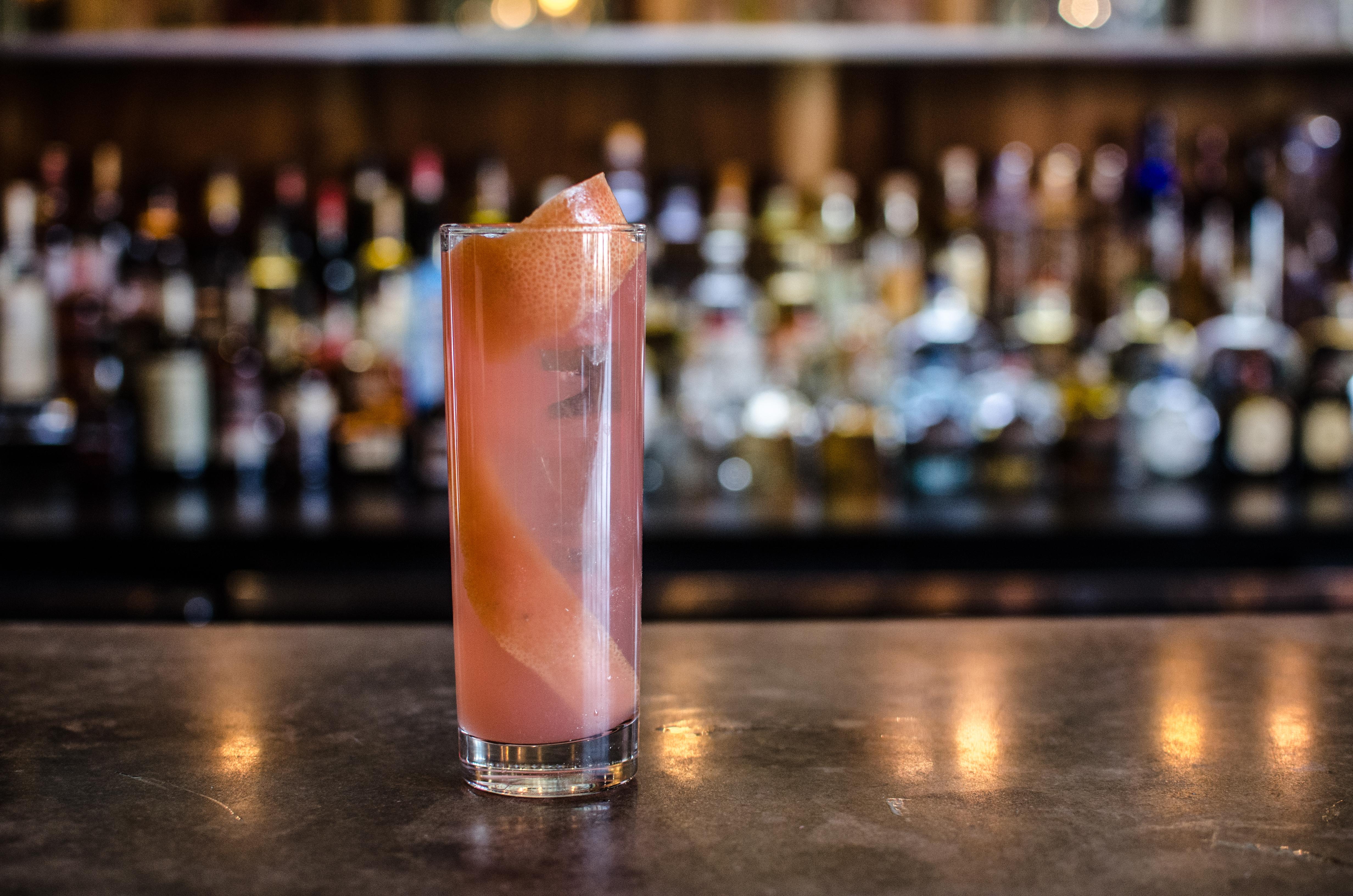 A cocktail at Burro Bar