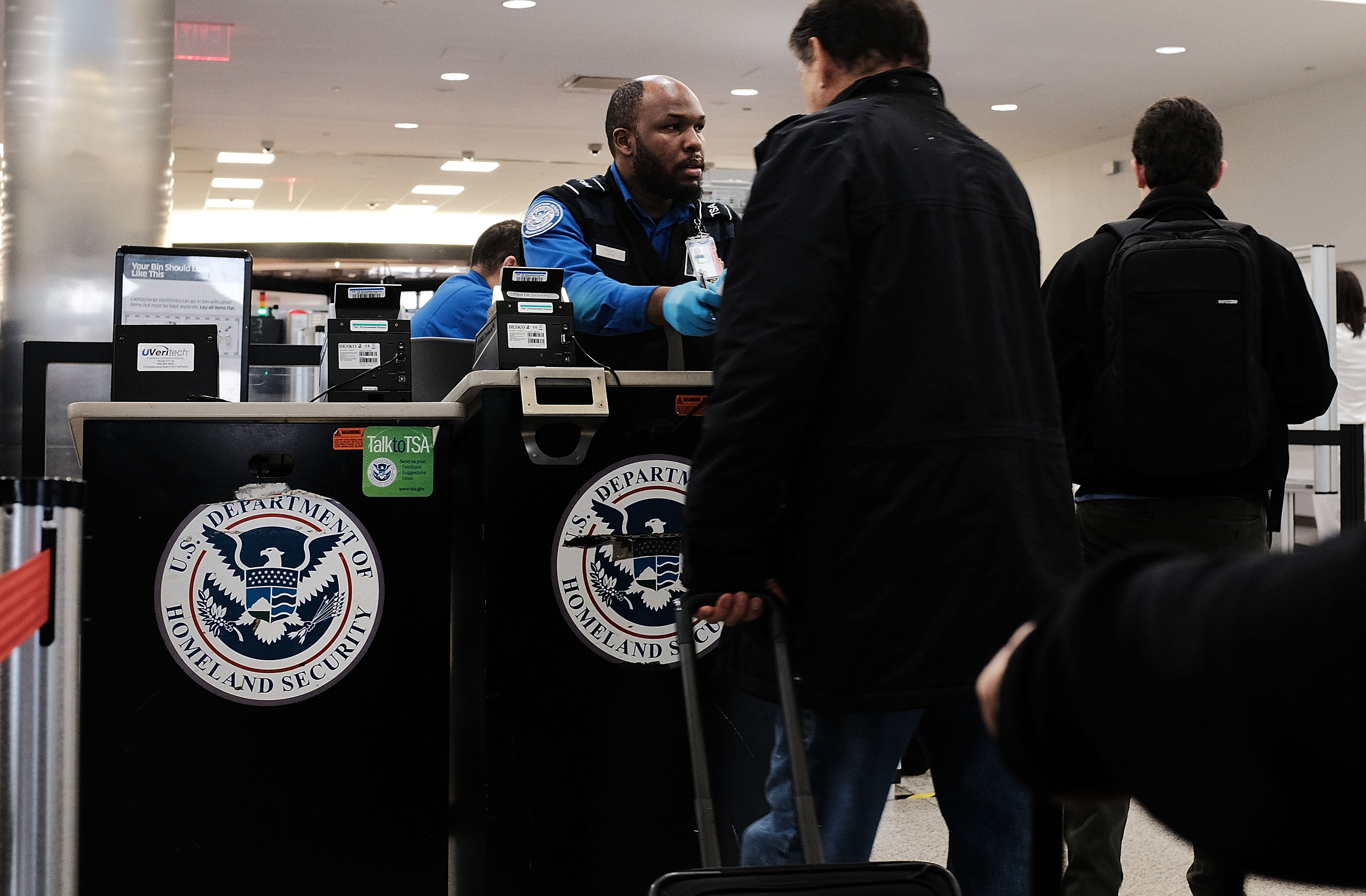 The government is secretly monitoring ordinary US citizens when they fly