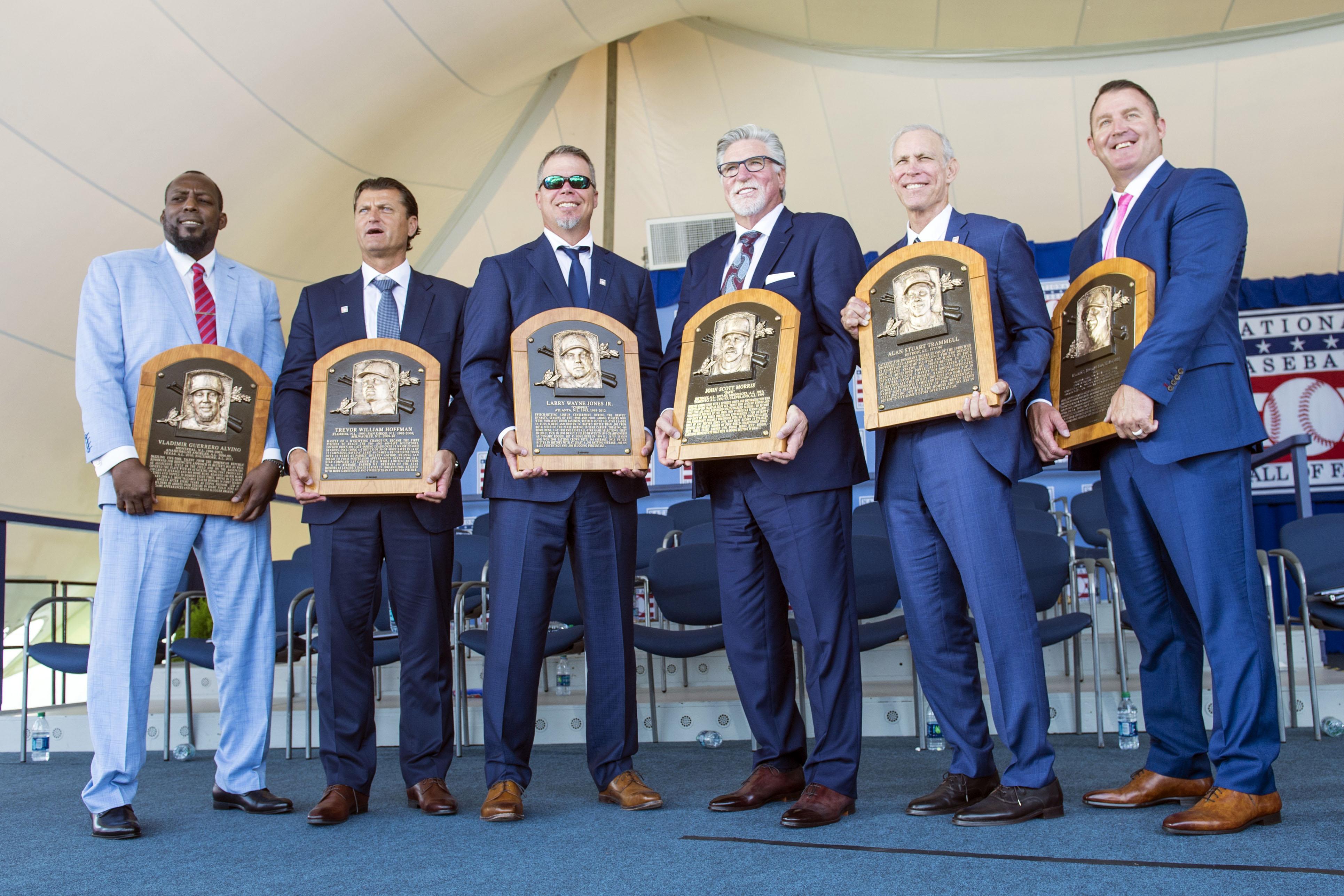 MLB: MLB: Baseball Hall of Fame-Induction Ceremony