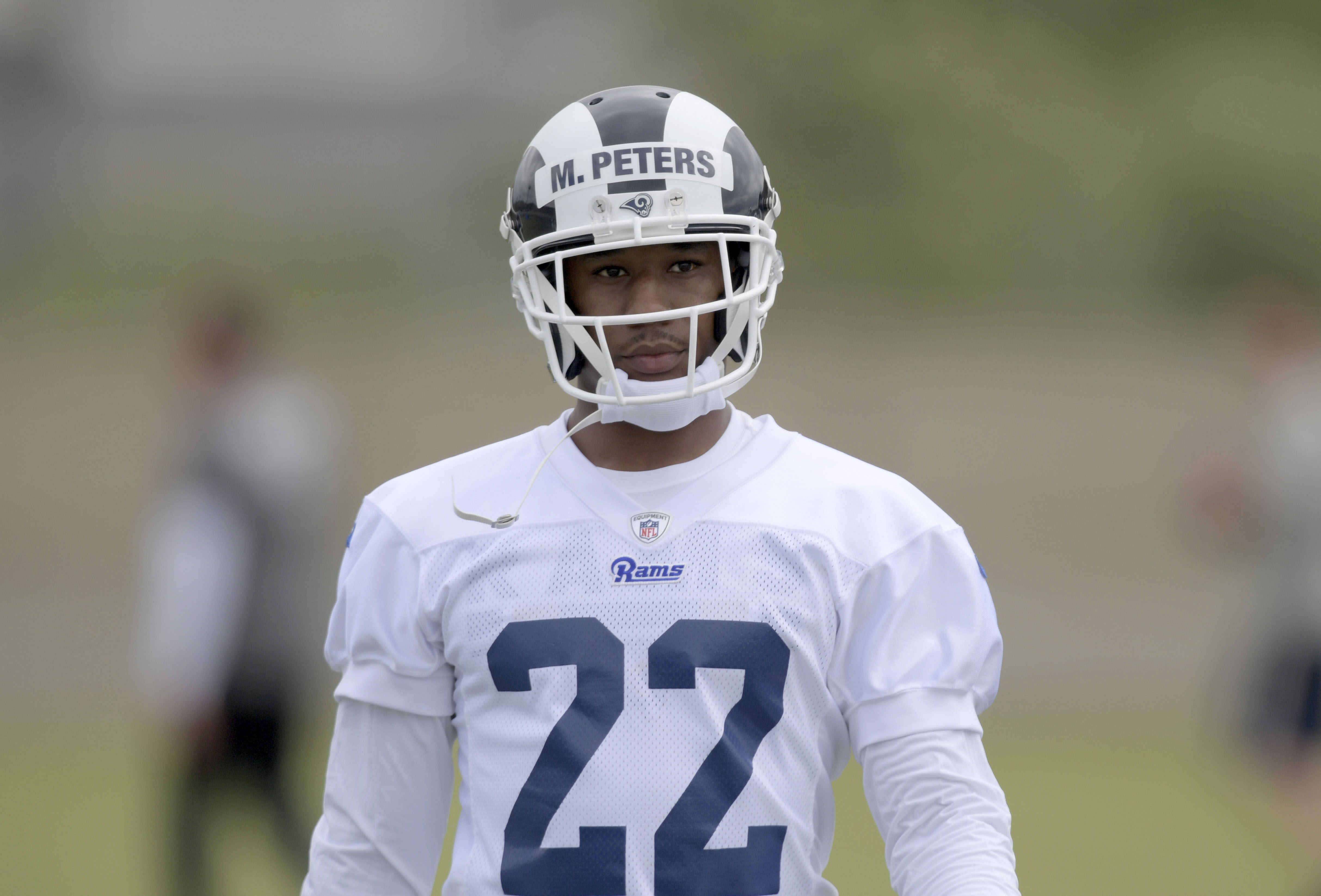 58552d1c 2018 Los Angeles Rams Roster Preview: CB Marcus Peters on two-year  probation rotation
