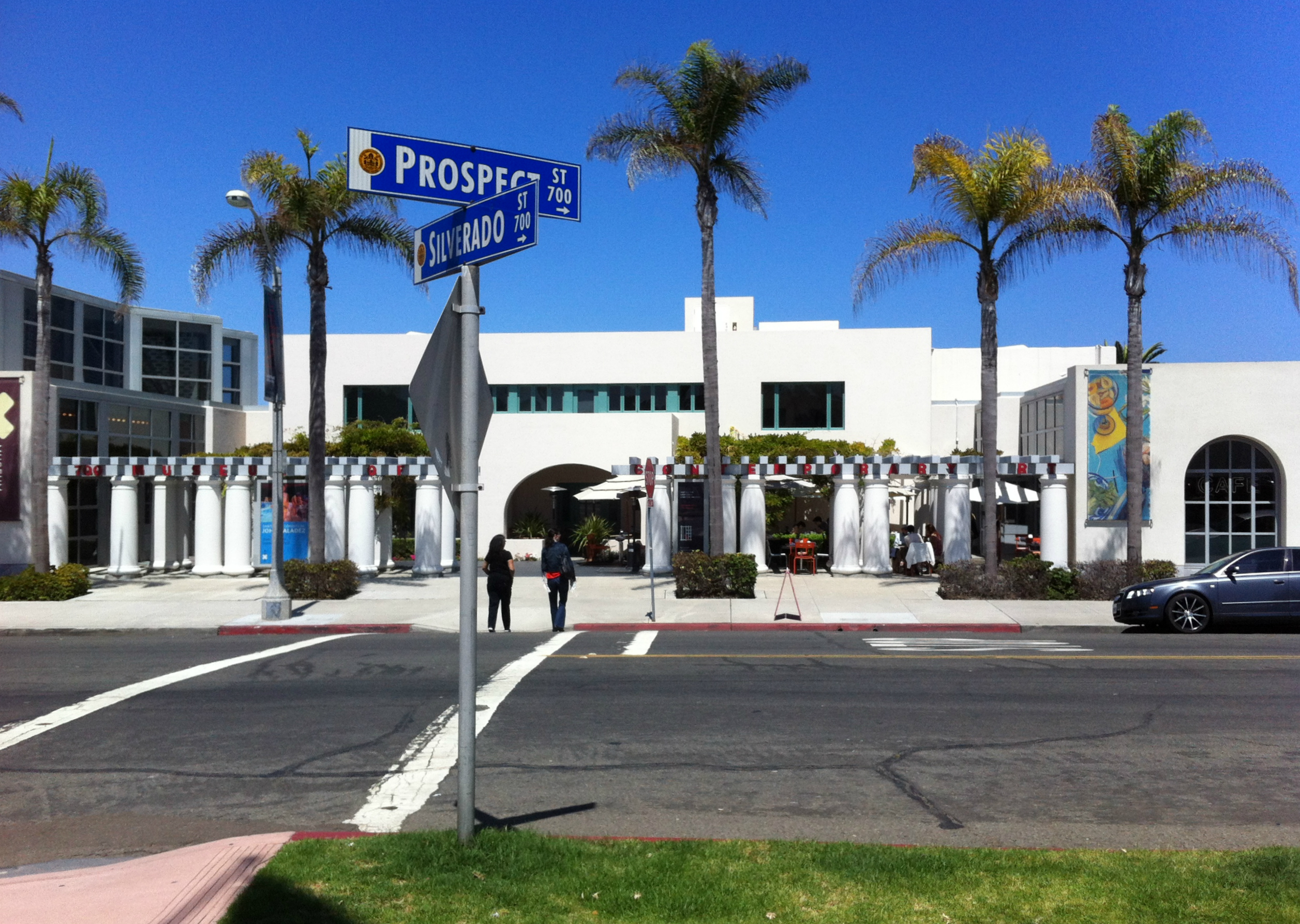 The Museum of Contemporary Art, San Diego, in La Jolla, California, as seen in 2012.
