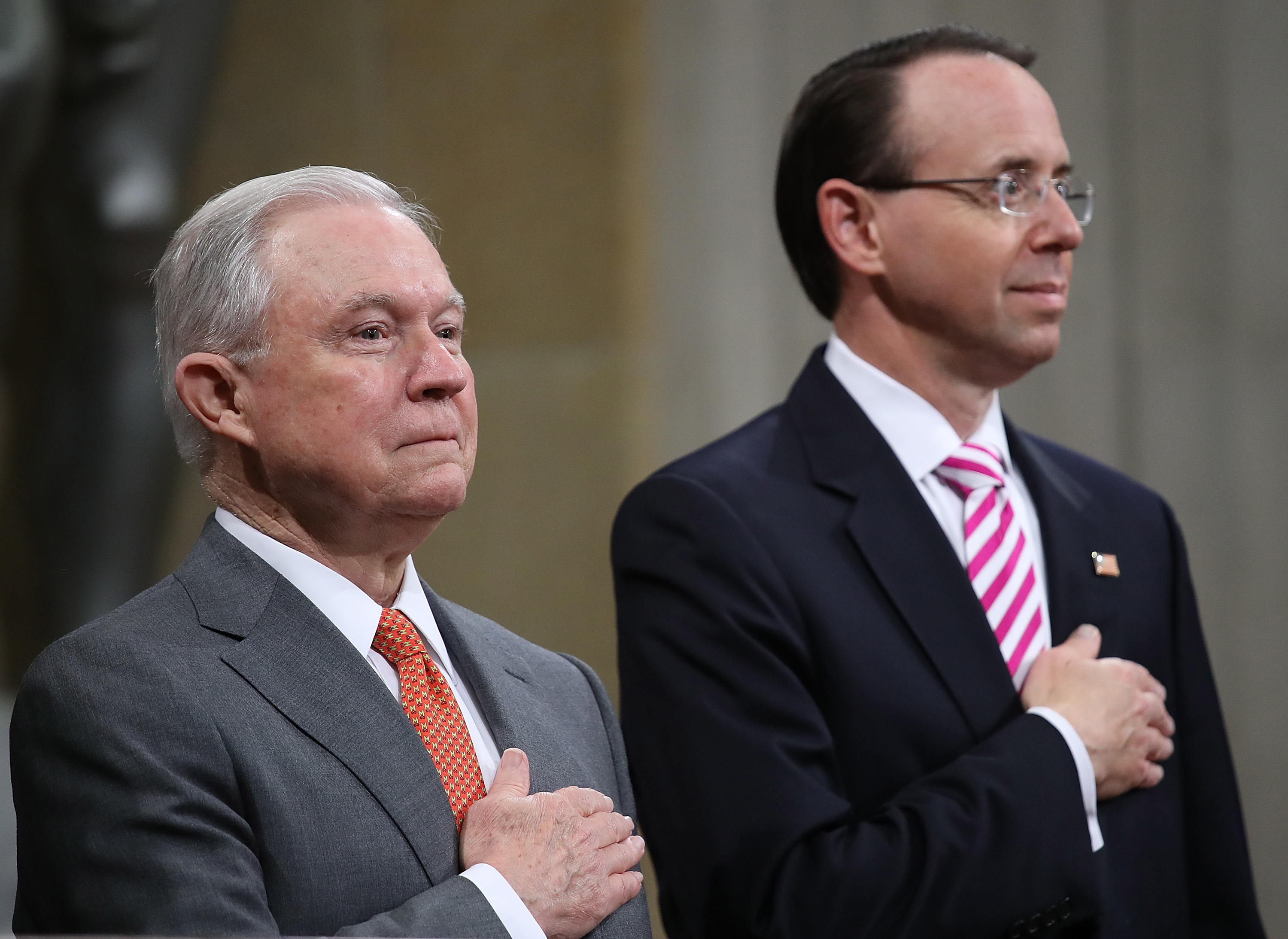 "Jeff Sessions announces a religious liberty task force to combat ""dangerous"" secularism"