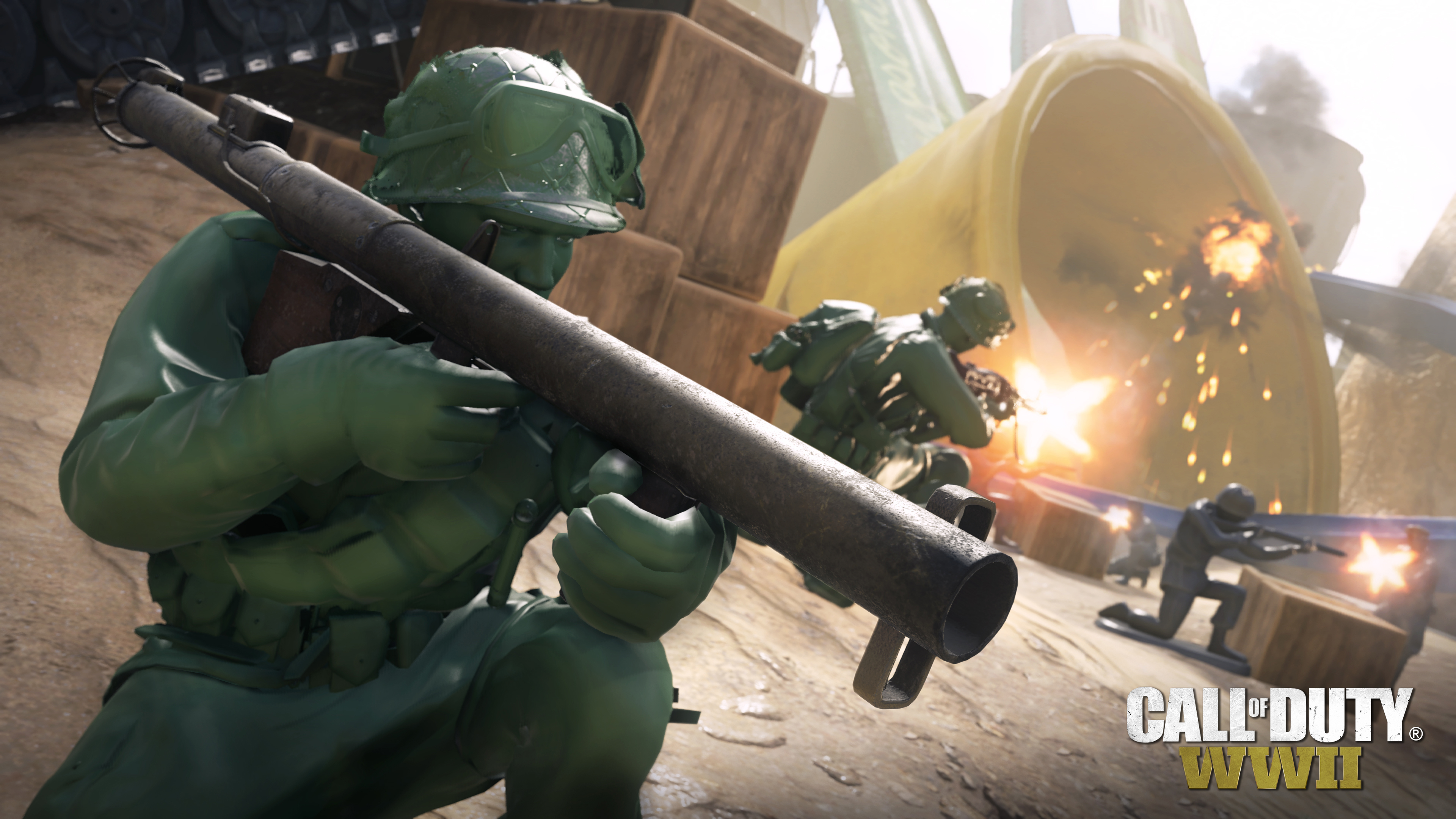 8fe26763123 Call of Duty  WWII s new summer map adds little green army men - Polygon