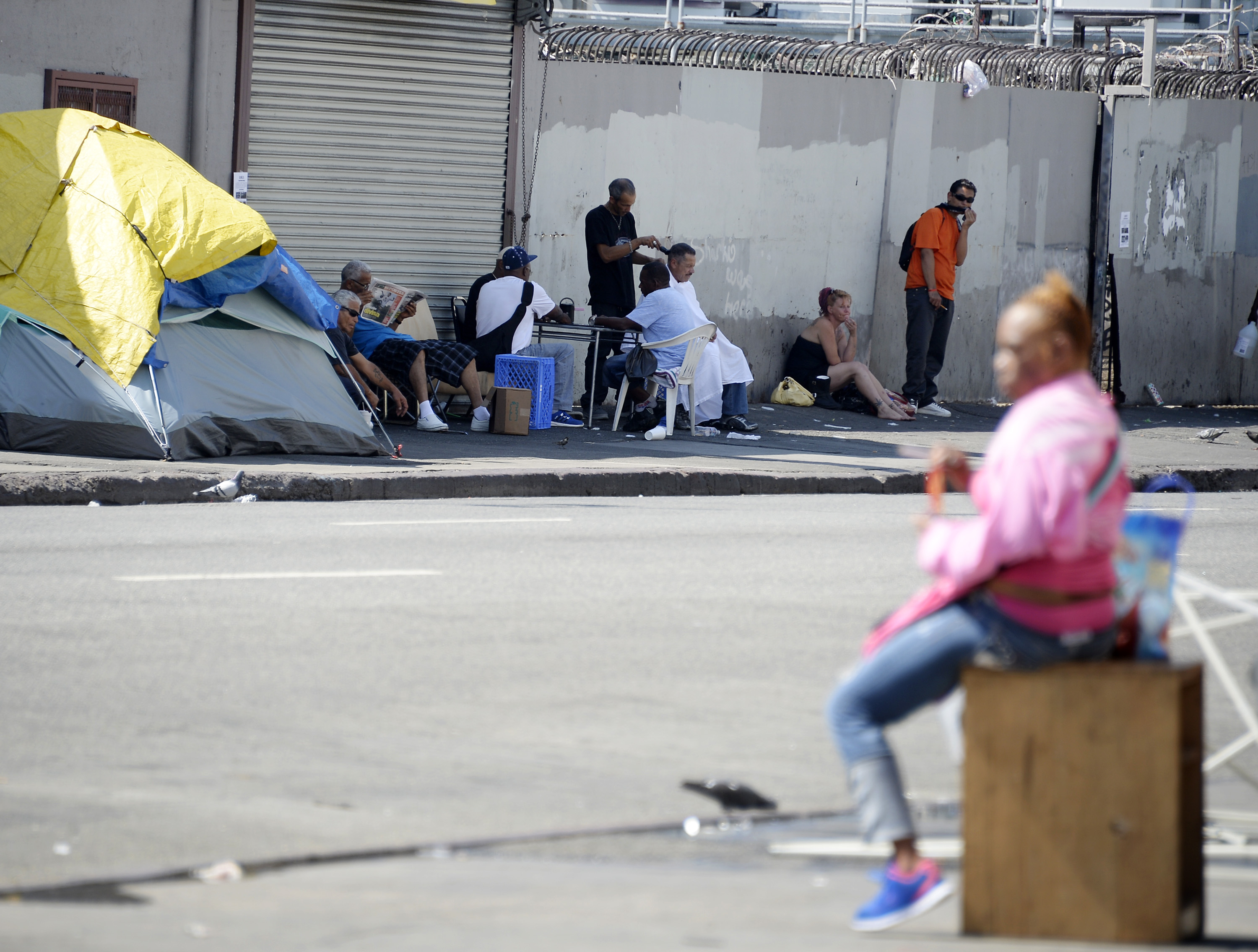 Los Angeles Mayor Declares State Of Emergency Over Homelessness Problem In City