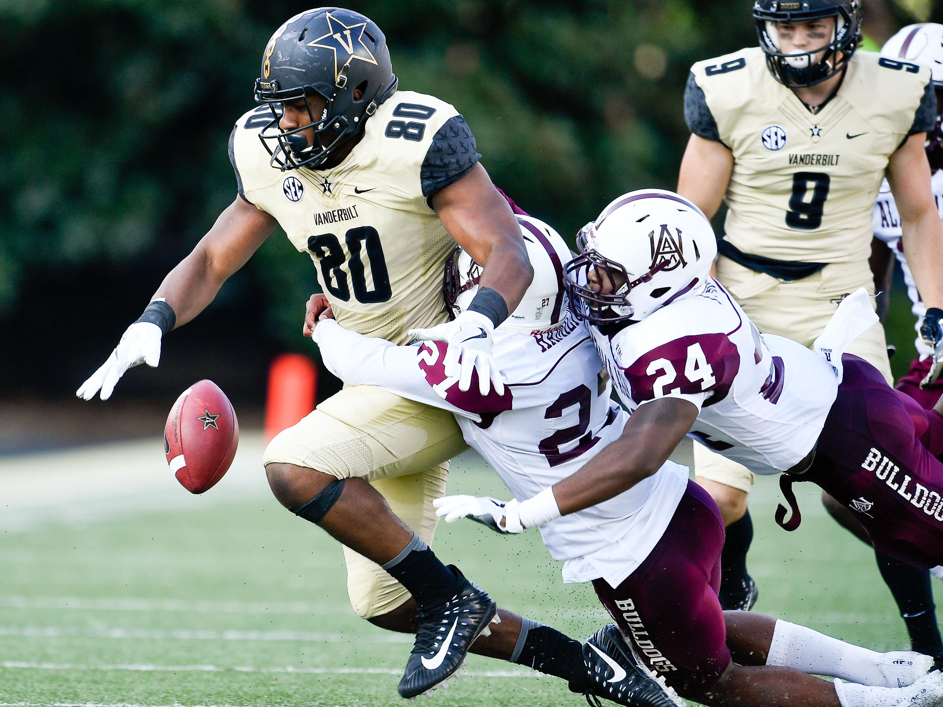 NCAA Football: Alabama A&M at Vanderbilt