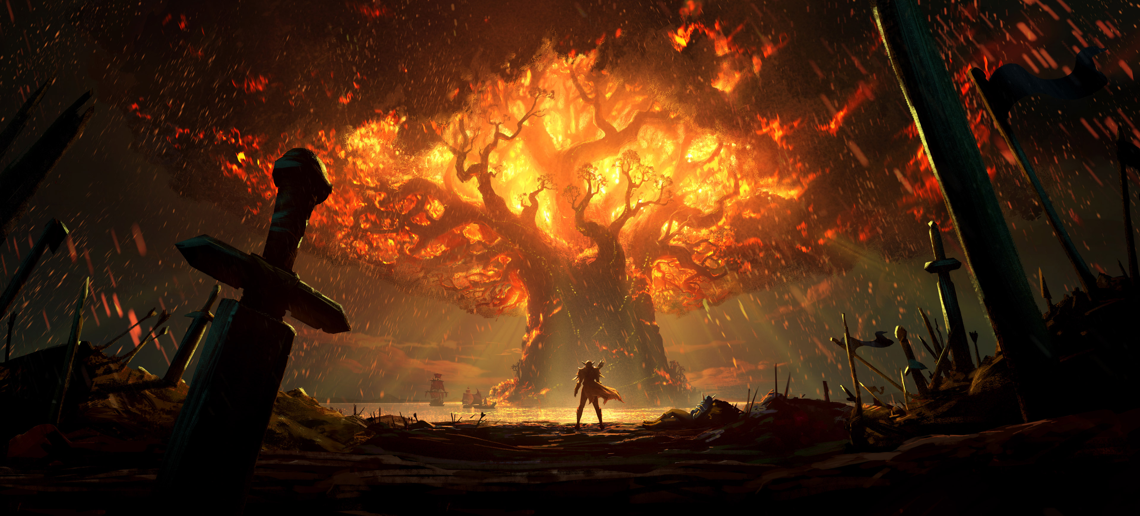 teldrassil animated