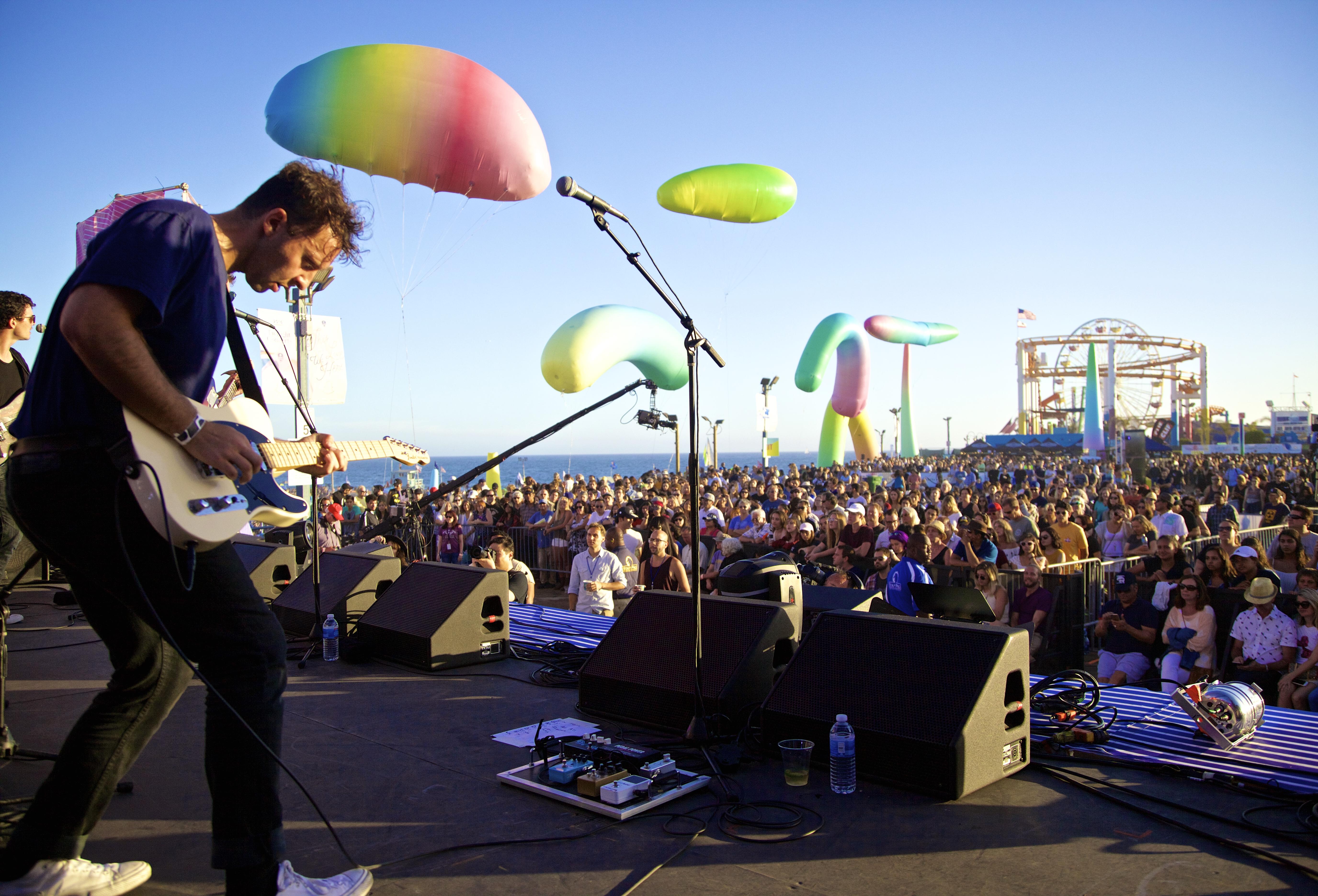 Santa Monica Pier's twilight concerts will return in September