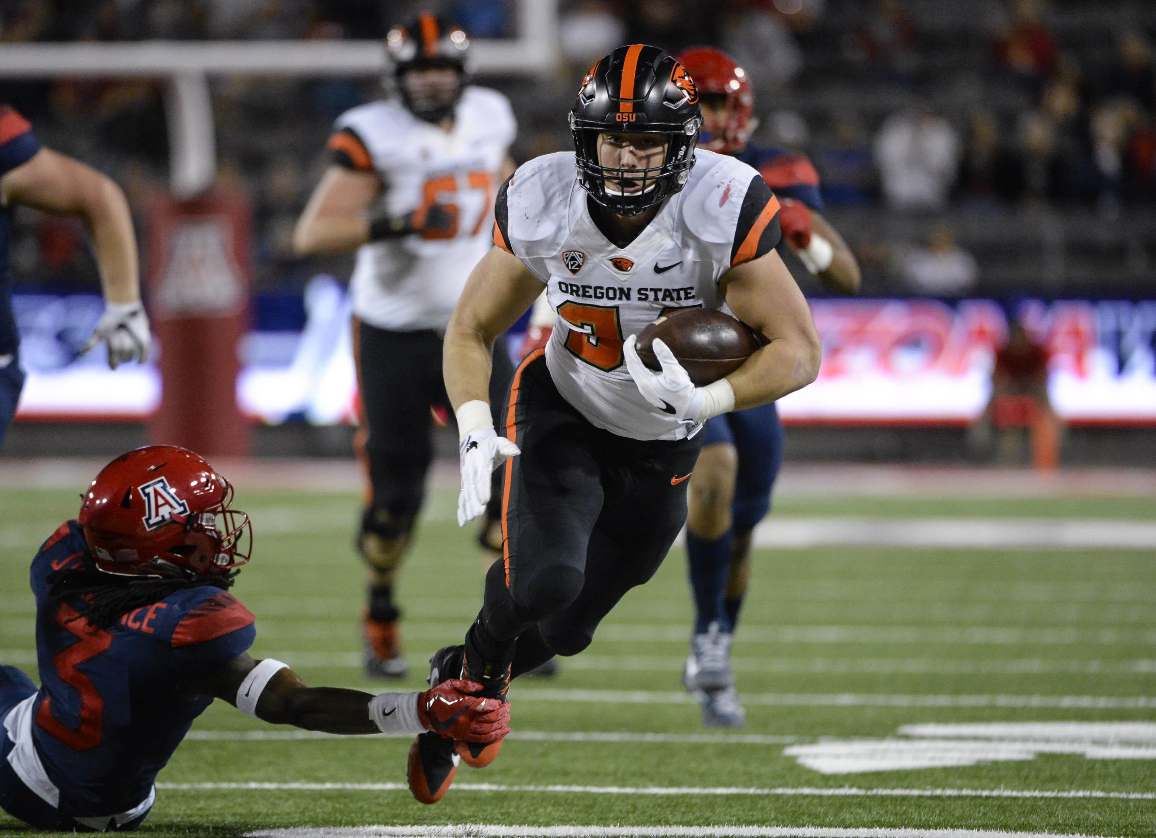 NCAA Football: Oregon State at Arizona