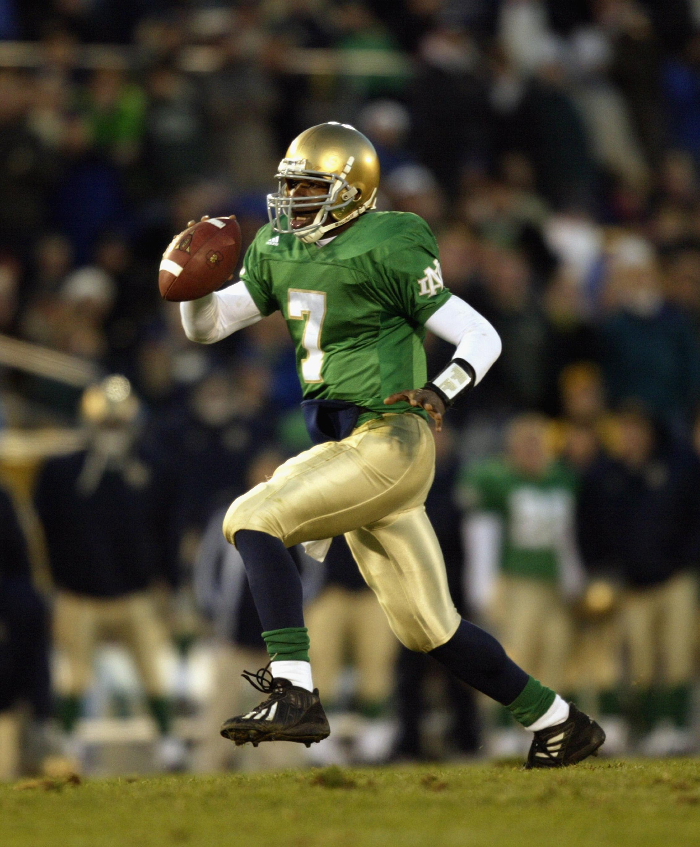 600cb083c7d Will Notre Dame Wear Green Jerseys Against Michigan?