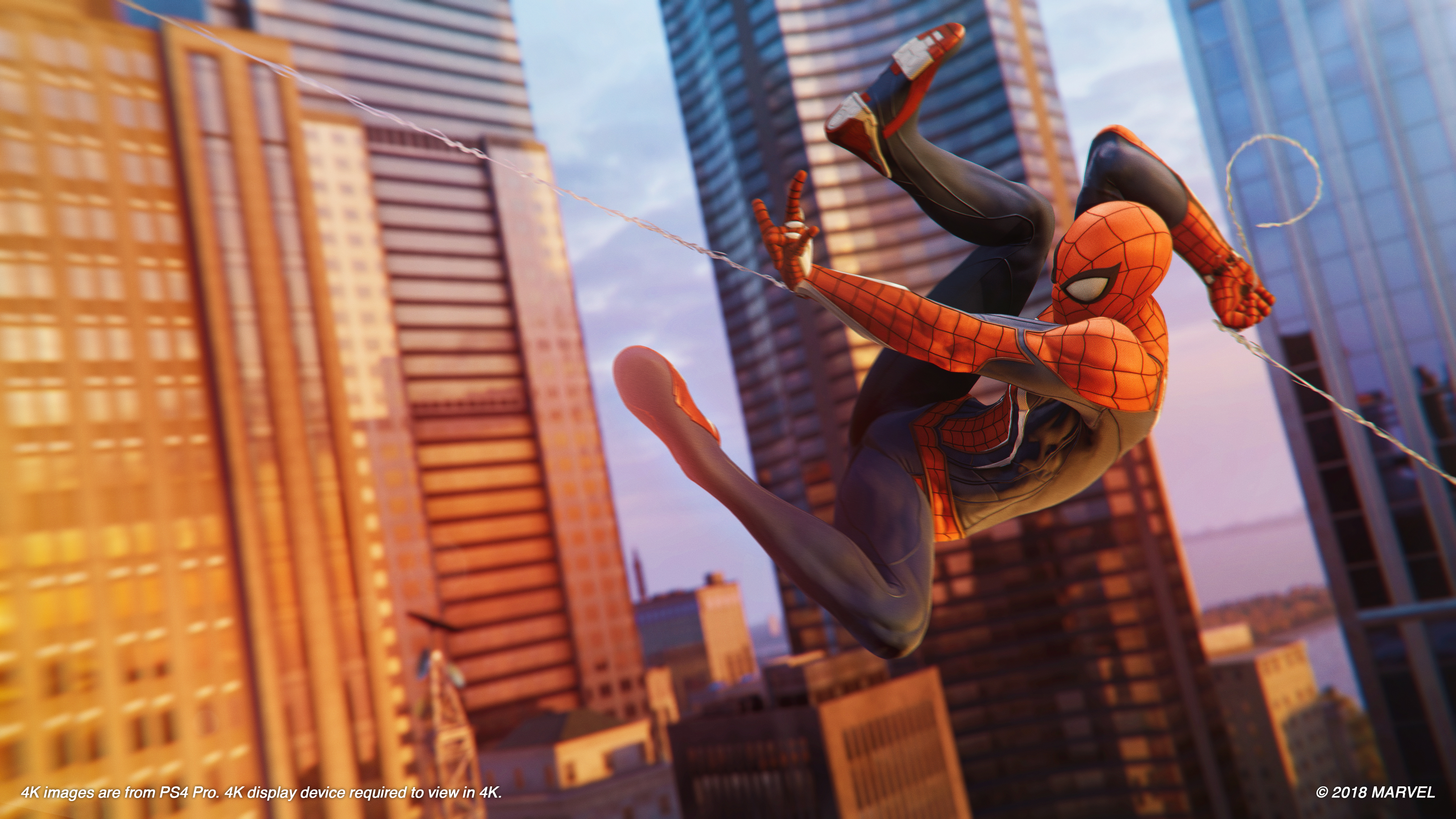 The First Hour Of Spider Man On The Ps4 Strains Against The Limits