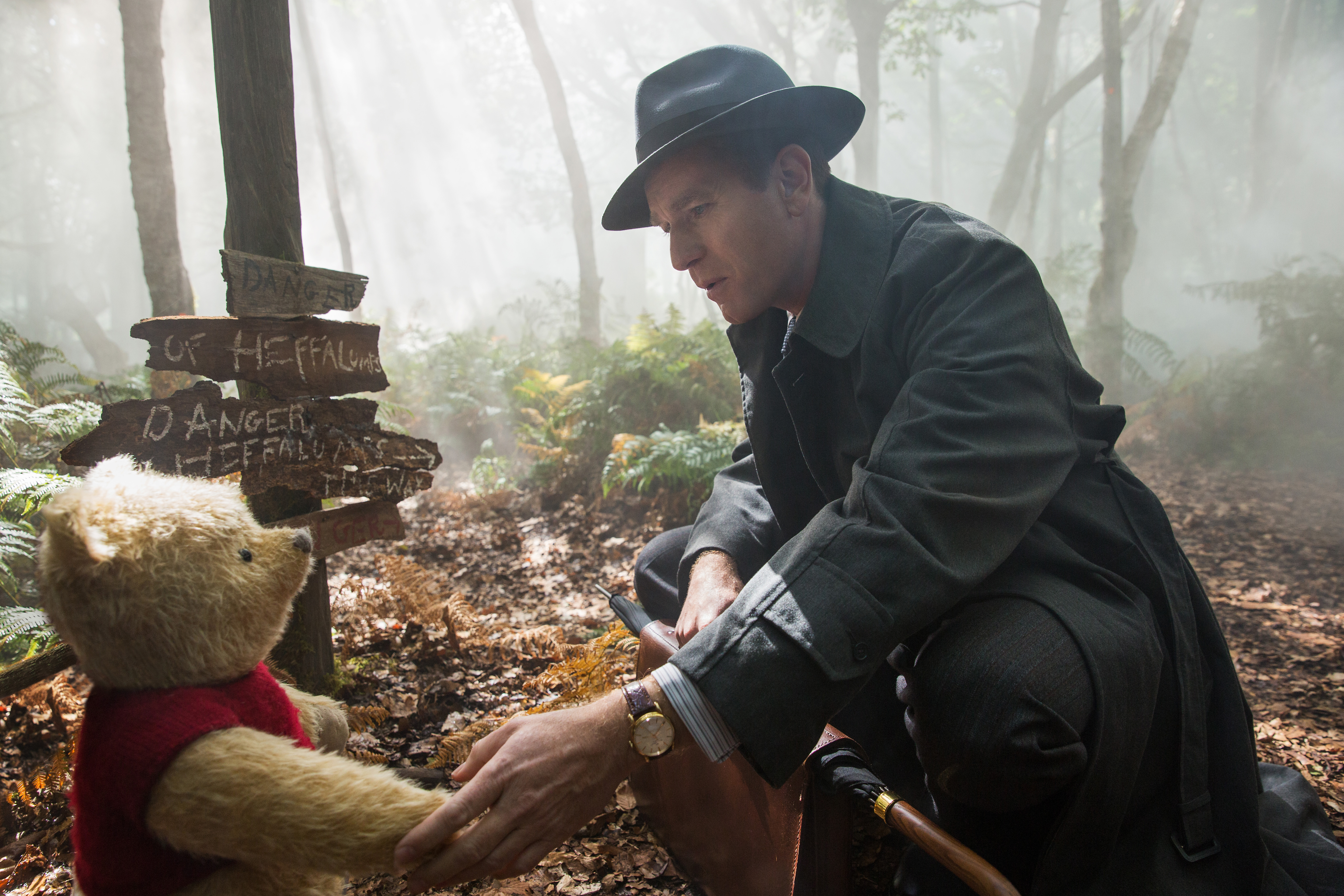 Christopher Robin is a corporate cash-in, but it fakes sincerity better than most