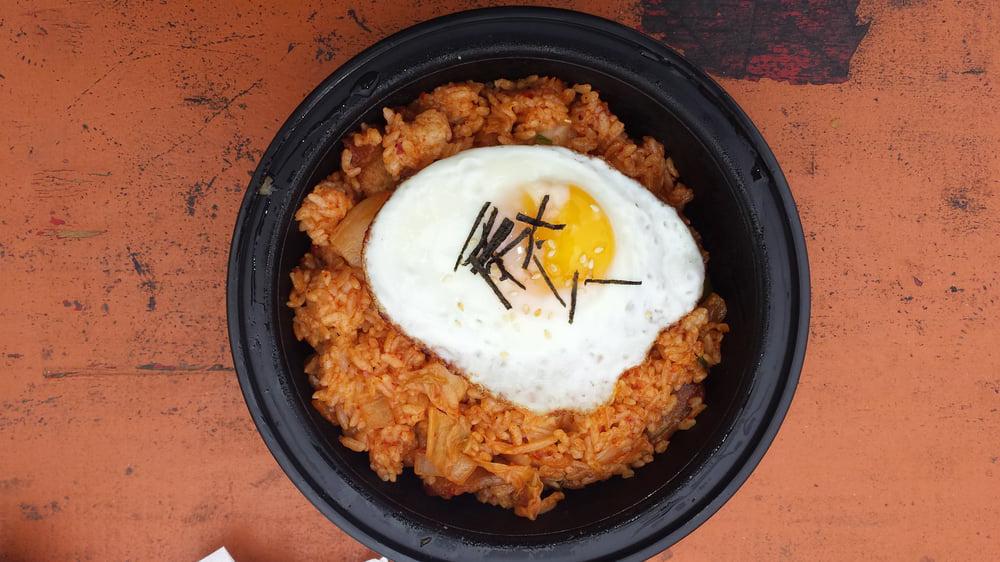 Kimchi fried rice from Korean Komfort