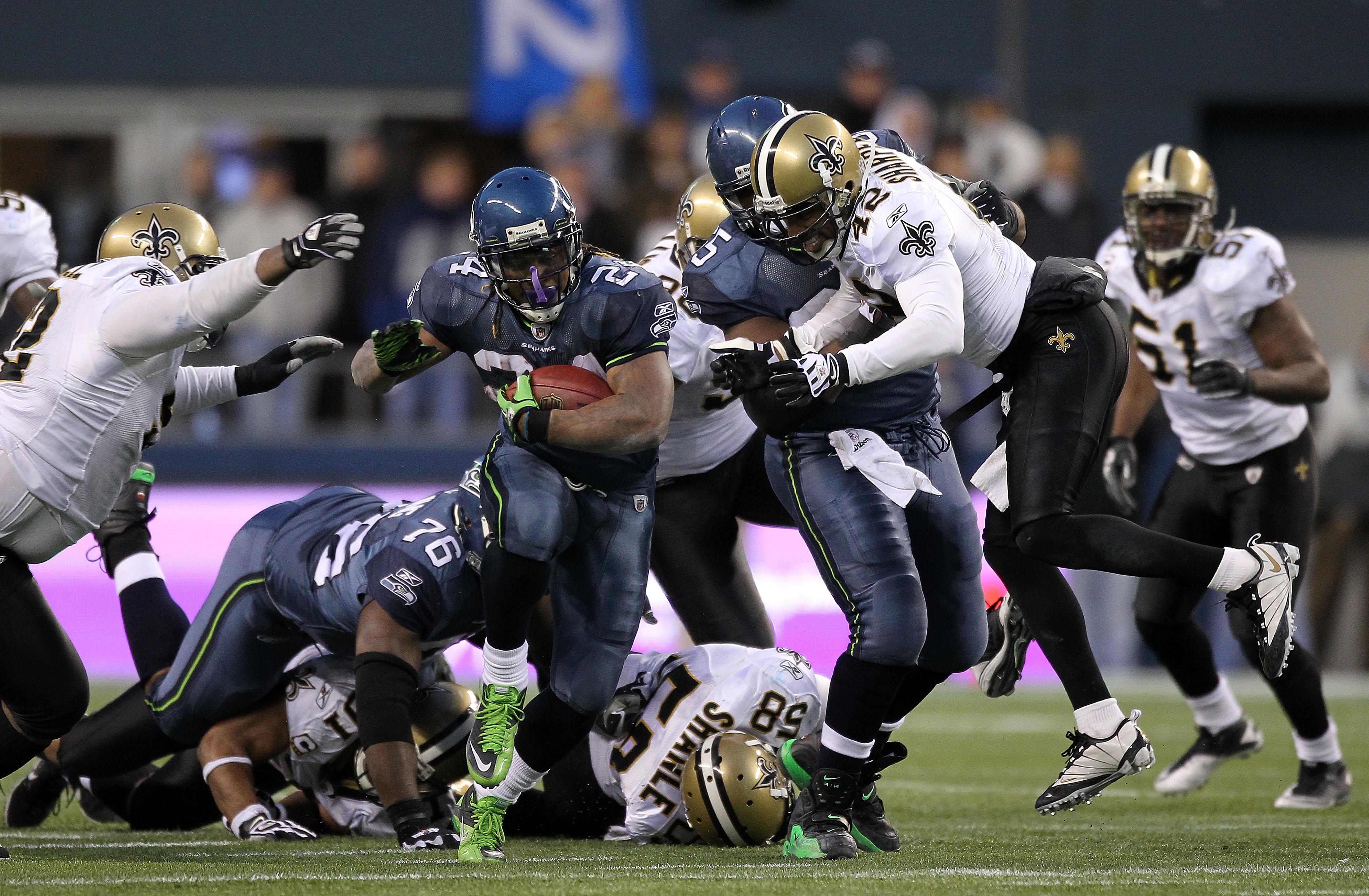 Wild Card Playoffs - New Orleans Saints v Seattle Seahawks