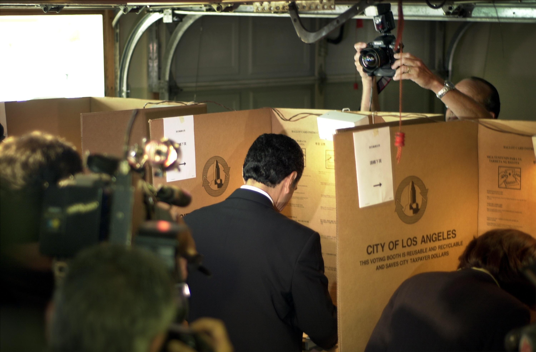 Los Angeles Elects New Mayor