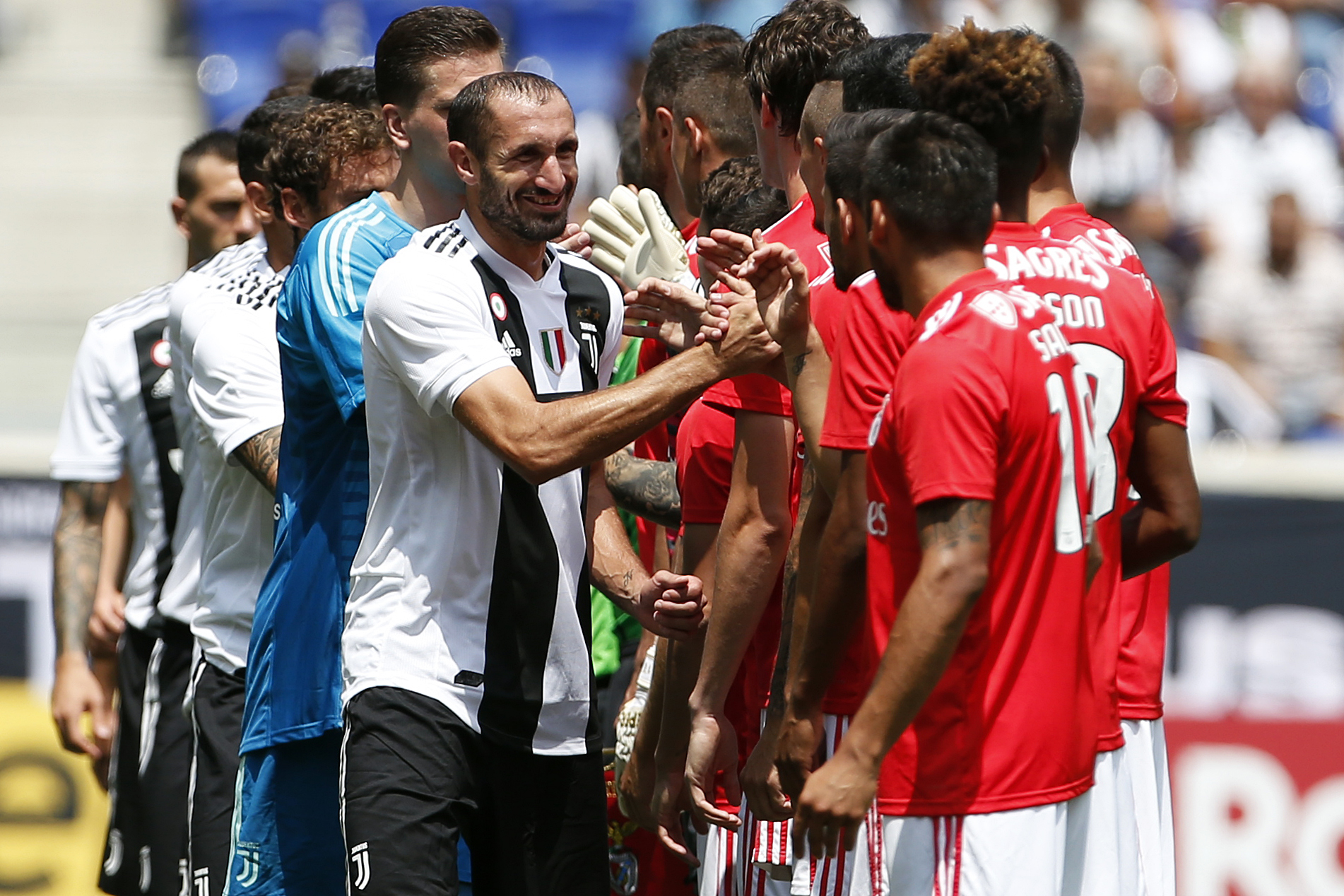 Juventus FC v Benfica FC - International Champions Cup 2018