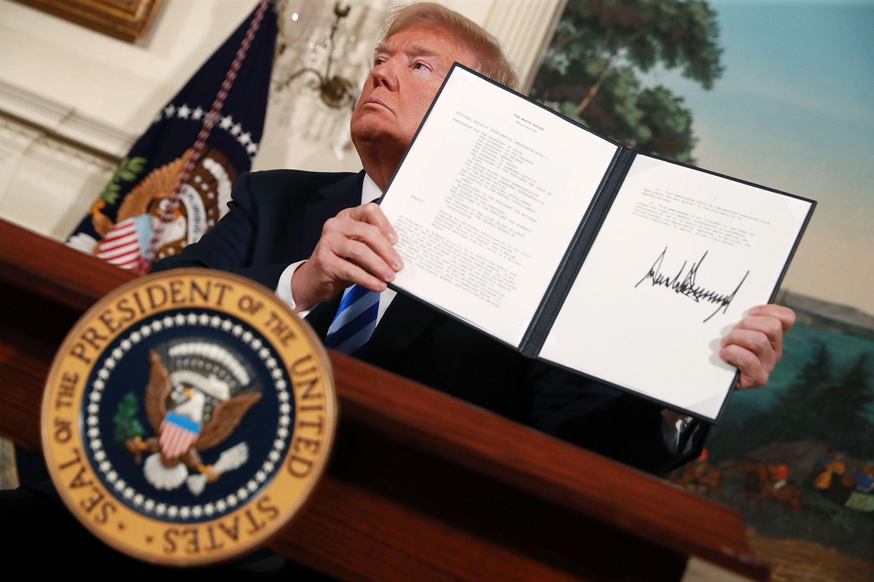 The US has reimposed sanctions on Iran. Here's what that means.