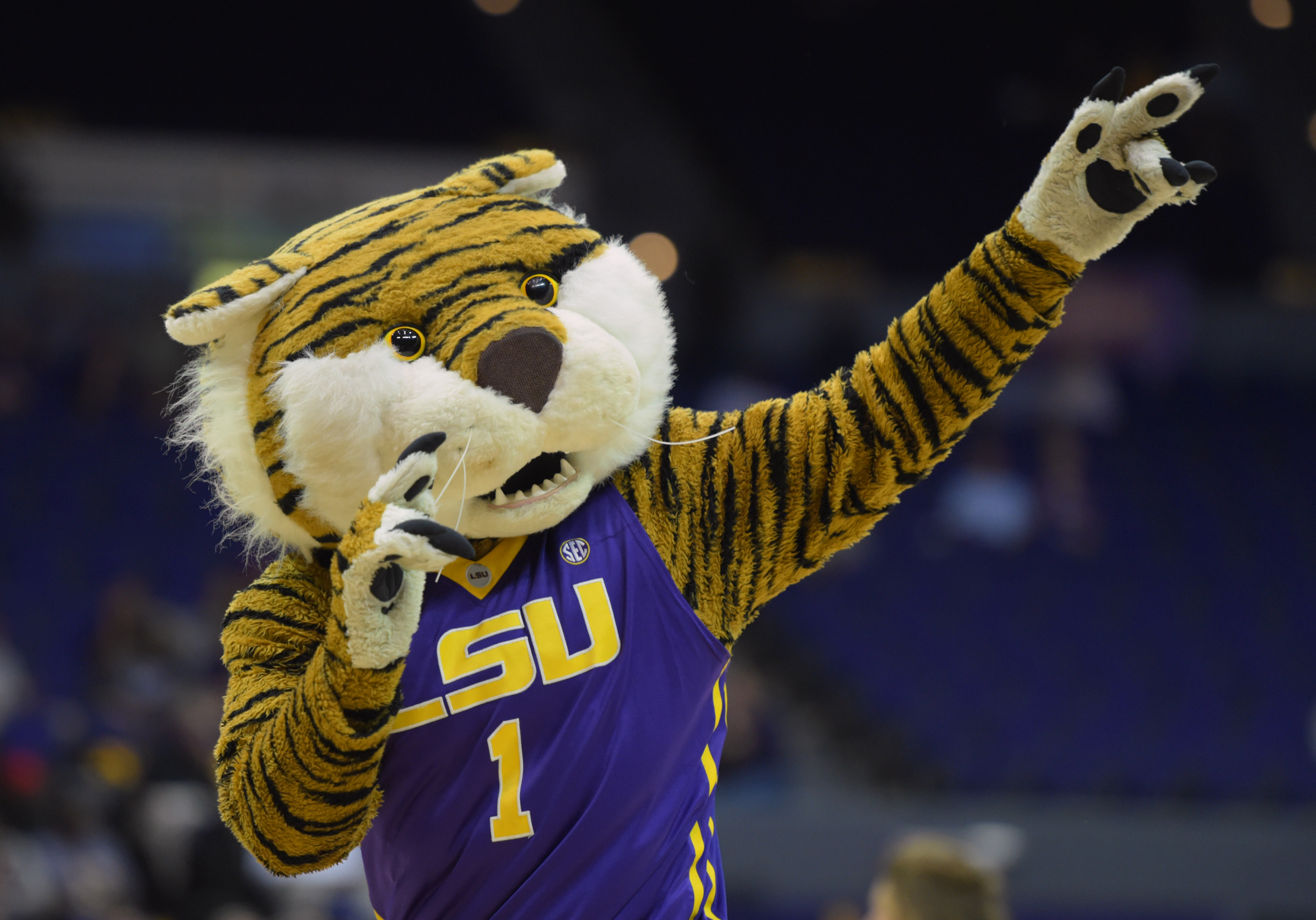 NCAA Basketball: Houston at Louisiana State