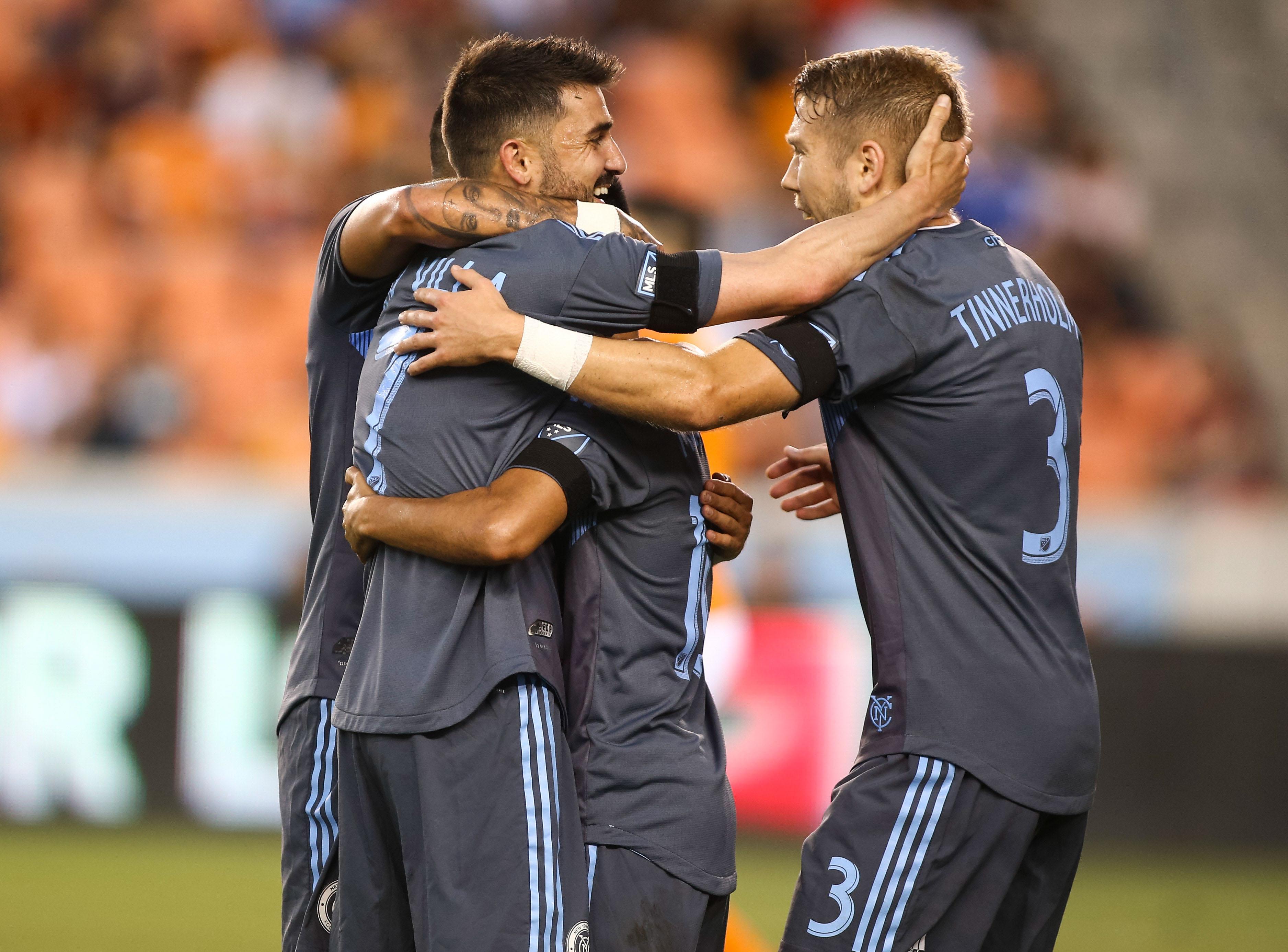 MLS: New York City FC at Houston Dynamo