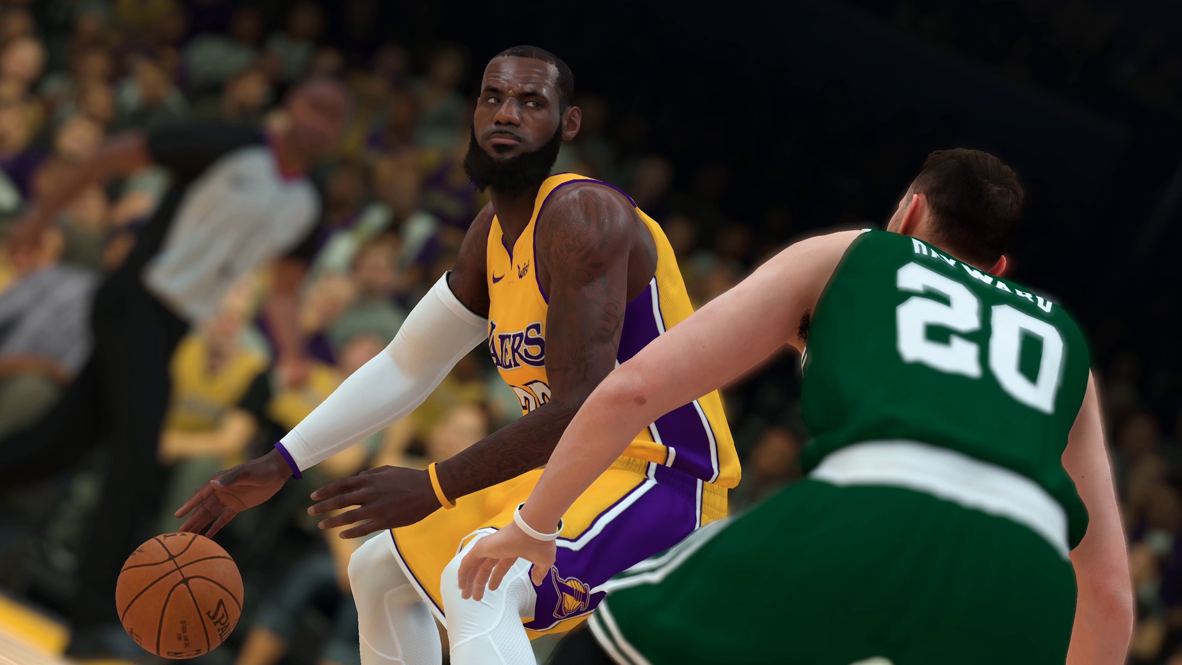 f1e34bfe3592 NBA 2K19 gameplay trailer shows off LeBron