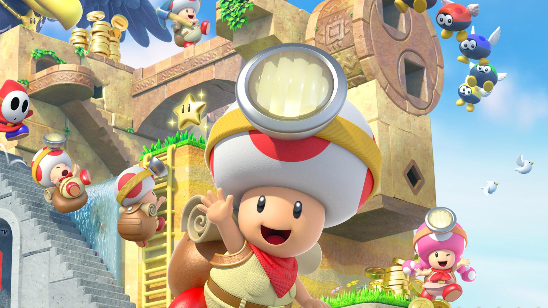 Captain Toad: Treasure Tracker - Captain Toad waving