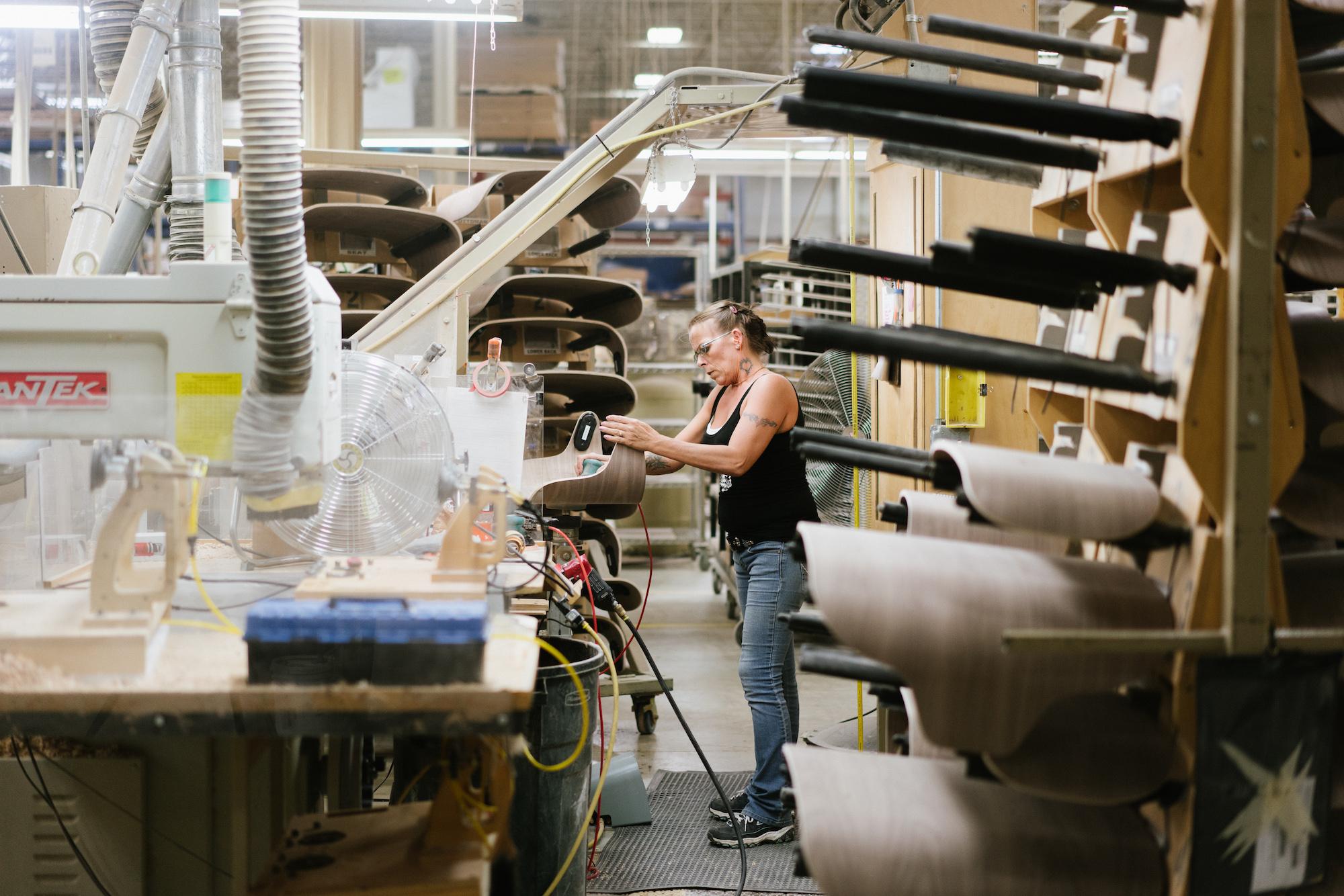 Herman Miller manufacturing