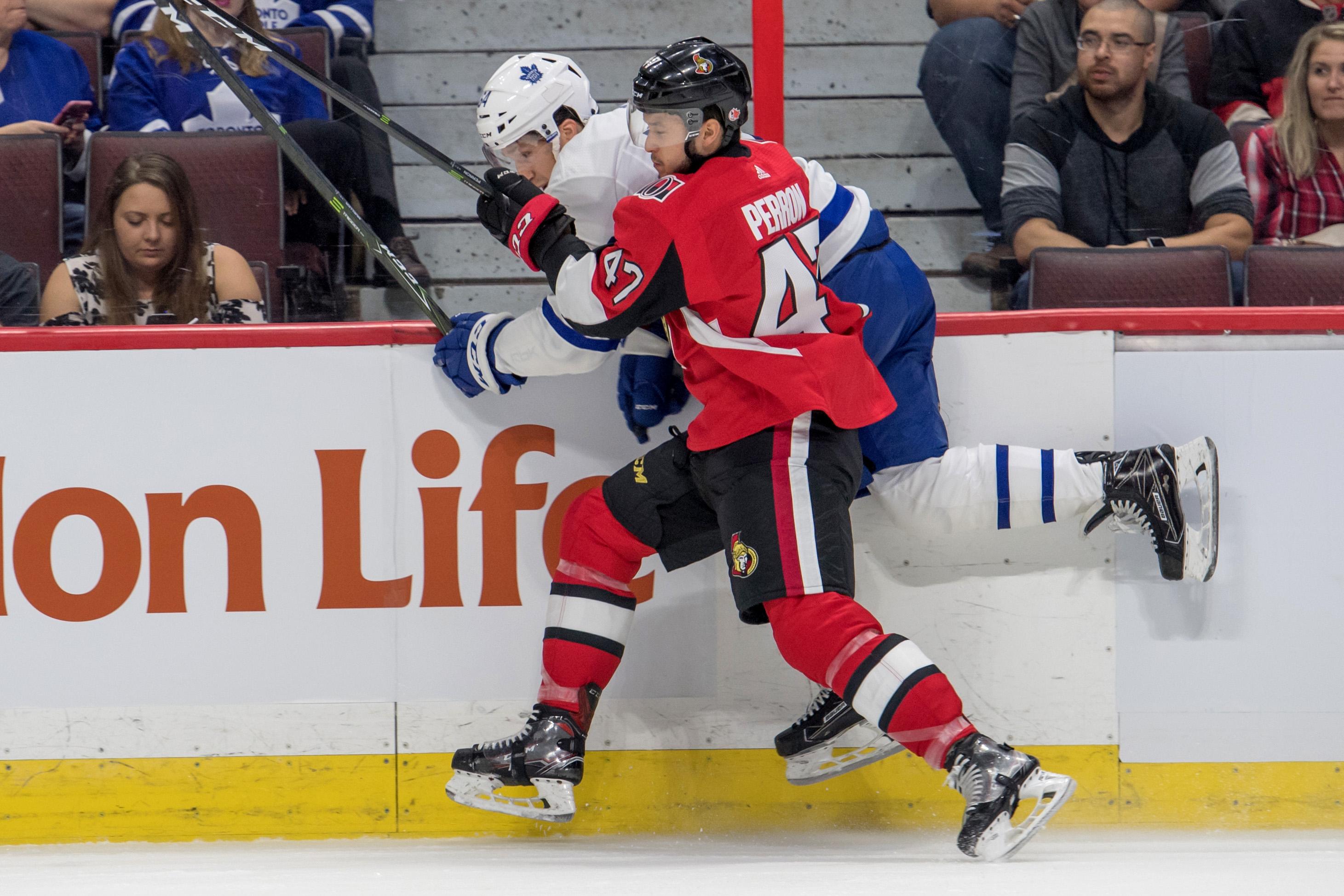 NHL: Preseason-Toronto Maple Leafs at Ottawa Senators
