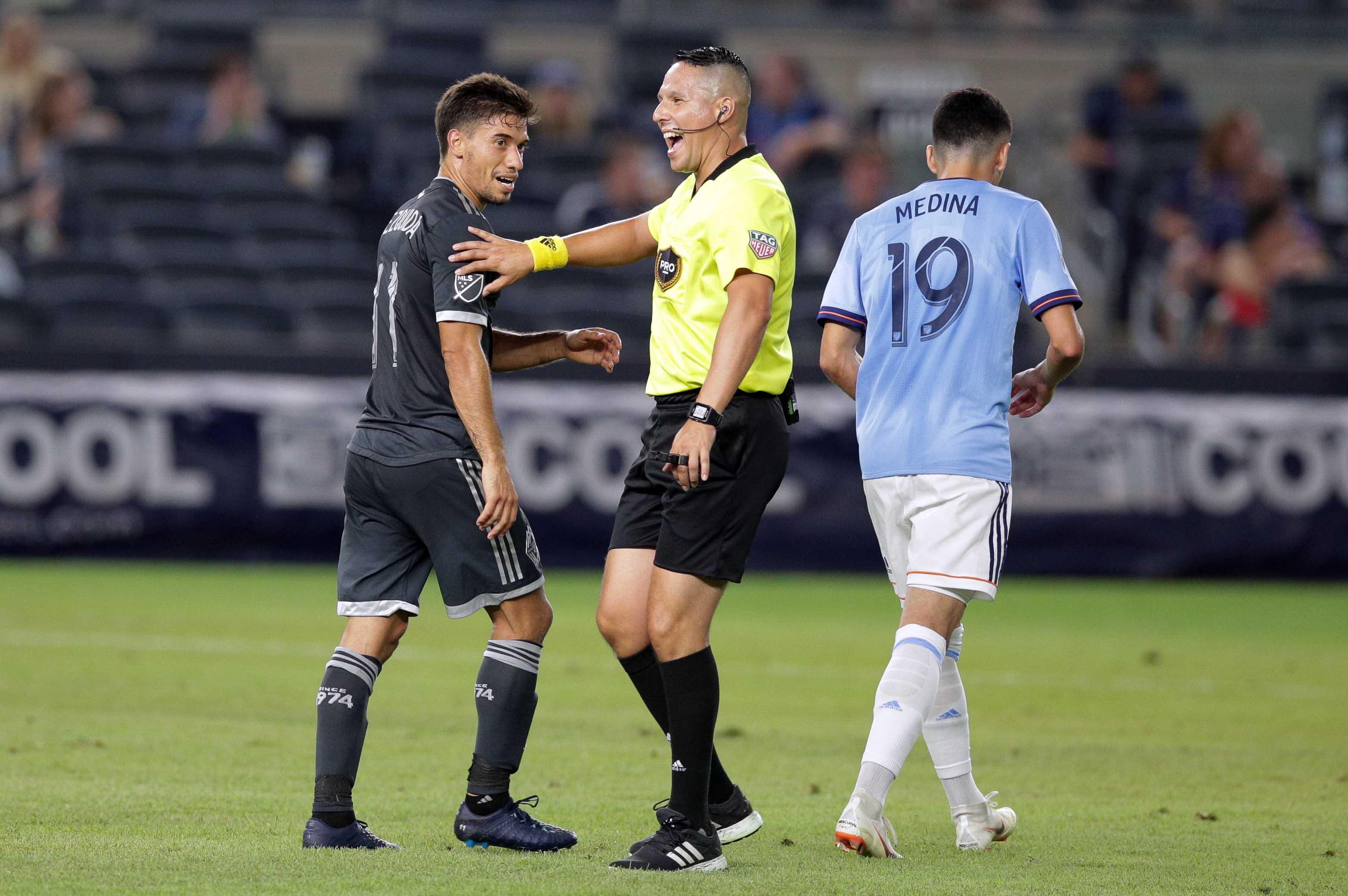 MLS: Vancouver Whitecaps at New York City FC