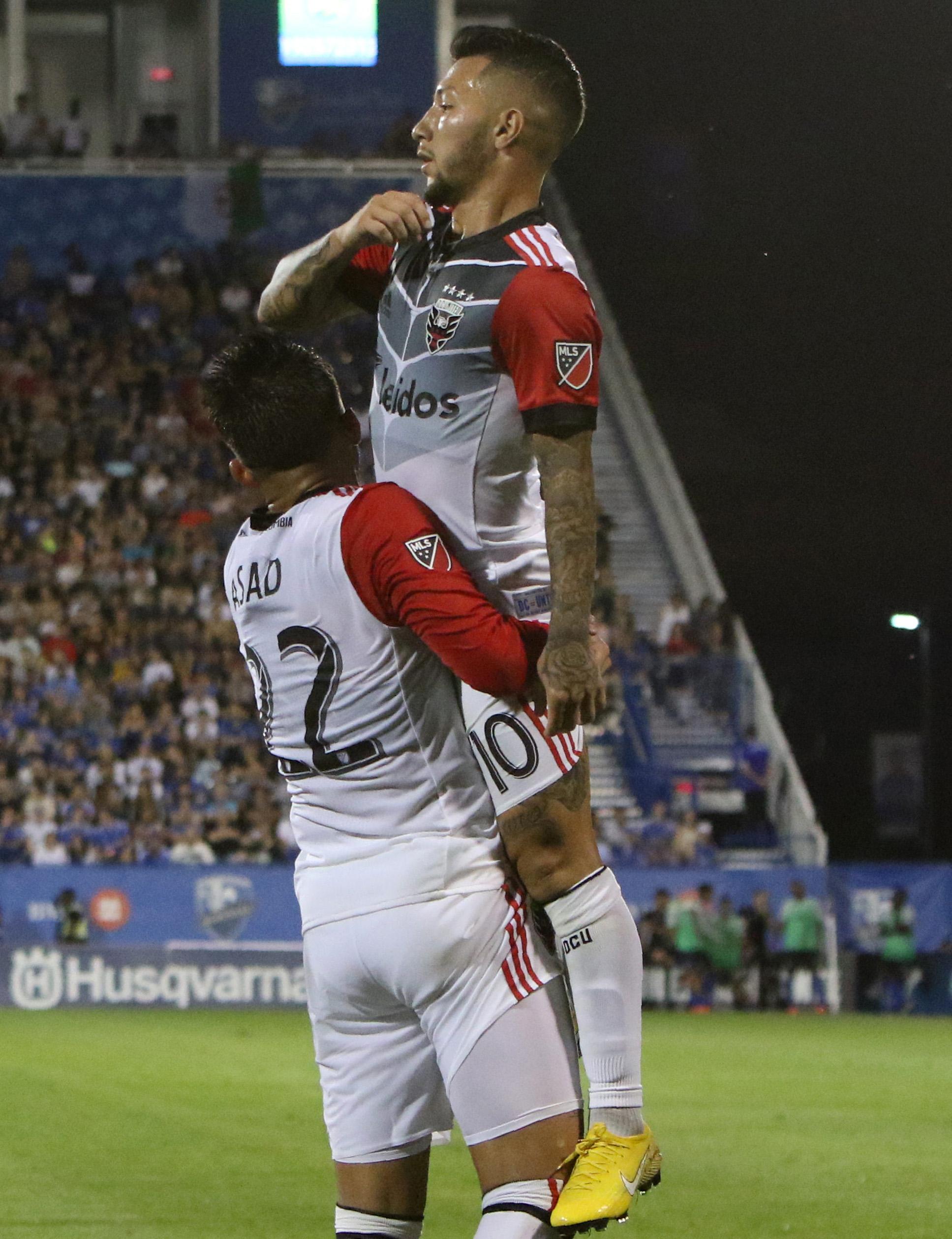 Yamil Asad & Luciano Acosta - MLS - D.C. United