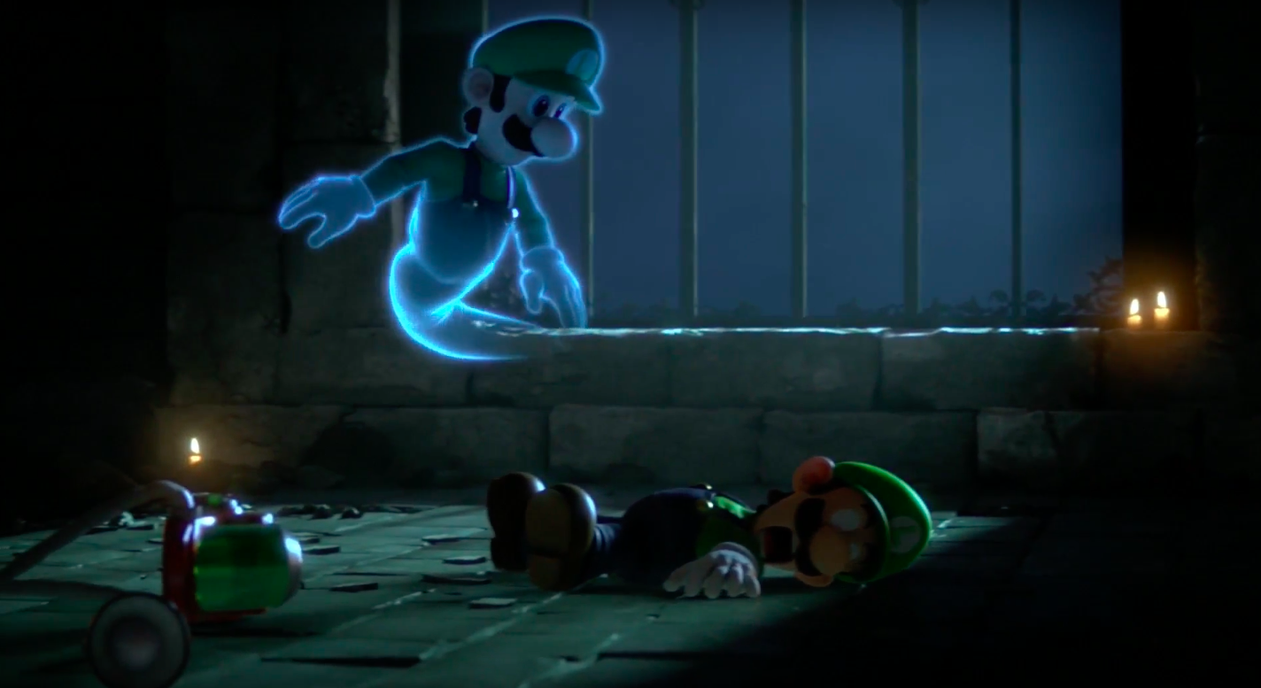 Don't worry: Luigi's not dead after the Super Smash Bros. Ultimate Direct