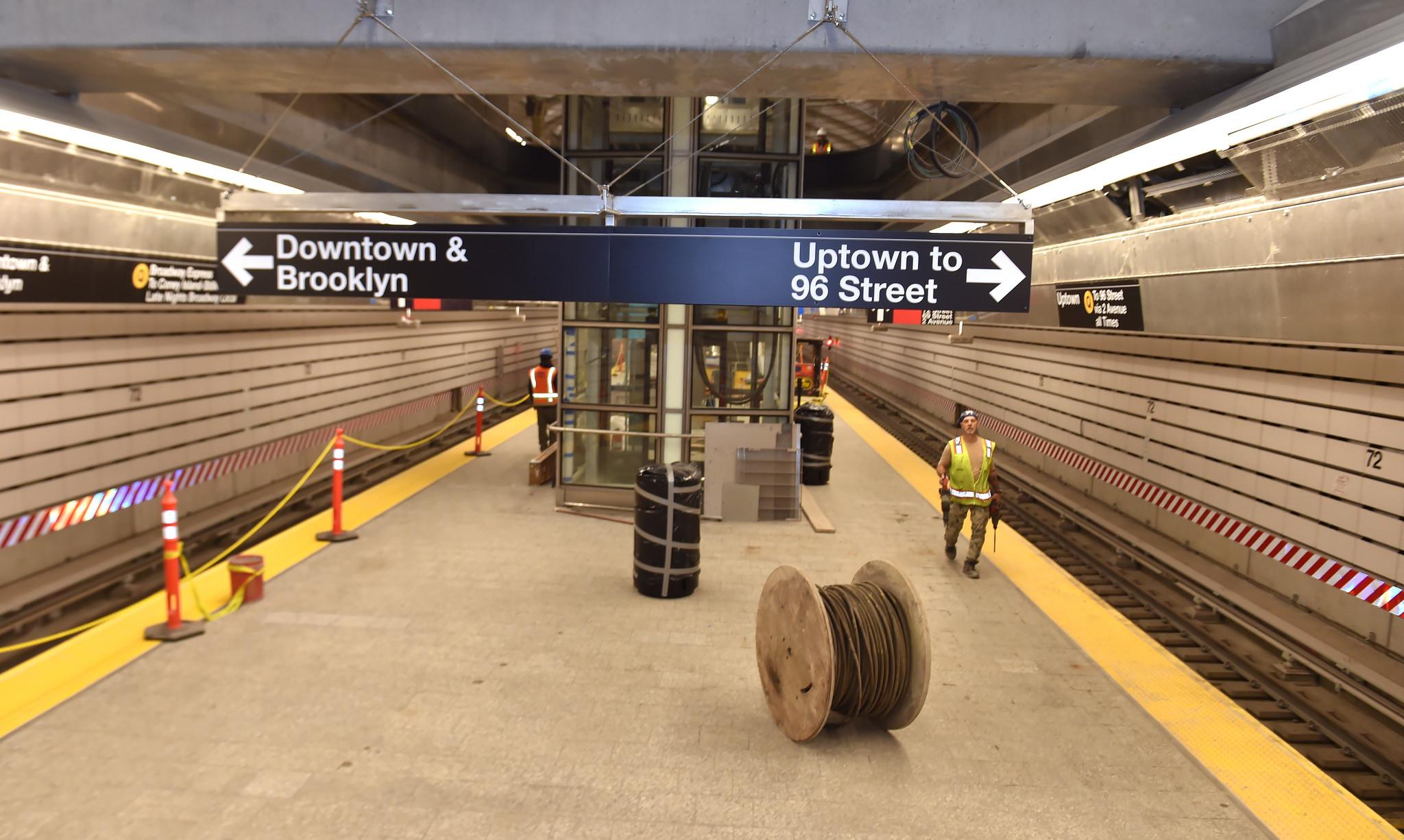La Subway Map Year Opened.Second Avenue Subway Curbed Ny