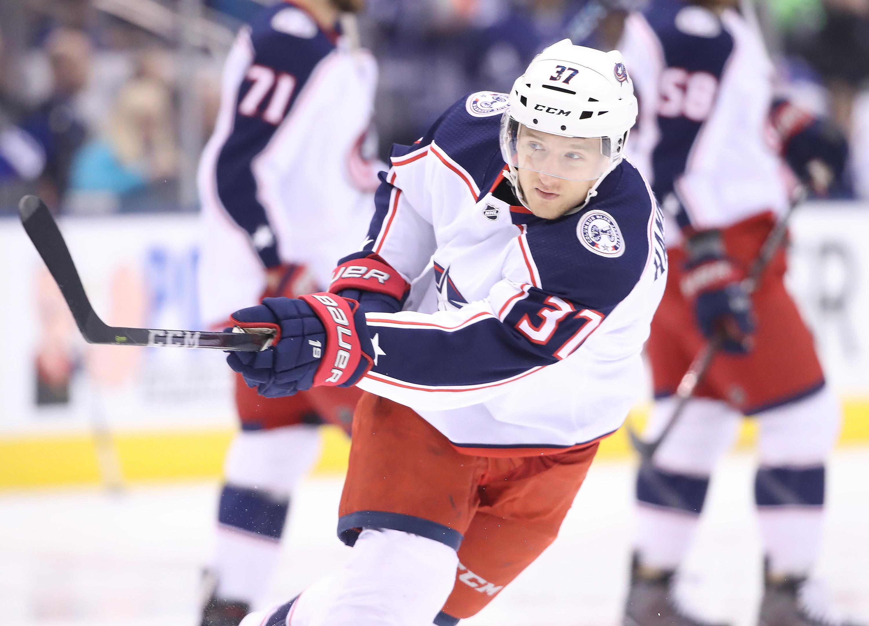 NHL: Columbus Blue Jackets at Toronto Maple Leafs