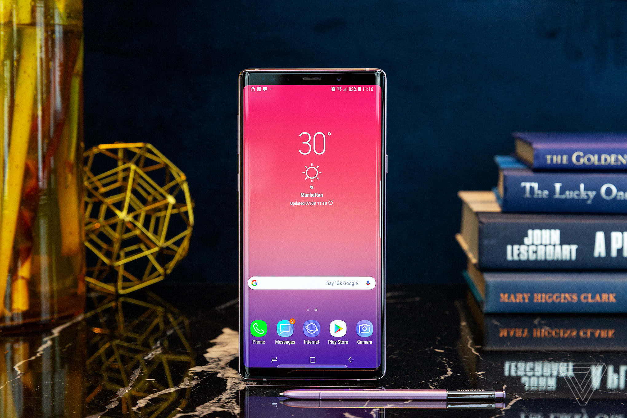 Samsung Galaxy Note 9 announced with 6 4-inch screen and a huge