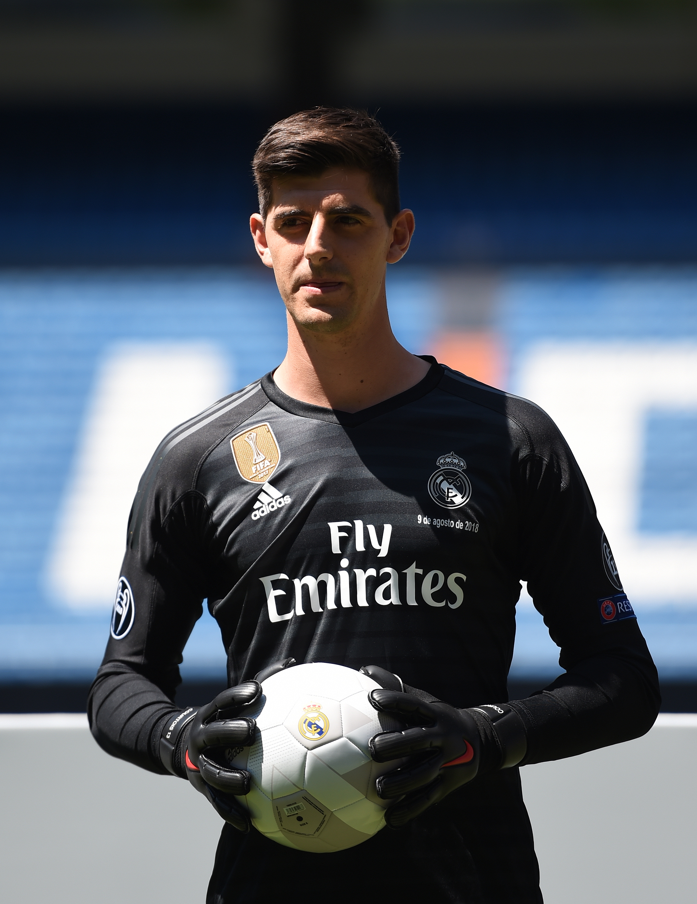 """low priced 9f197 e59db Courtois: """"My goal was to come to Real Madrid, everyone knew ..."""