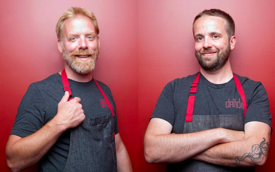 Dan Van Rite and Dan Jacobs