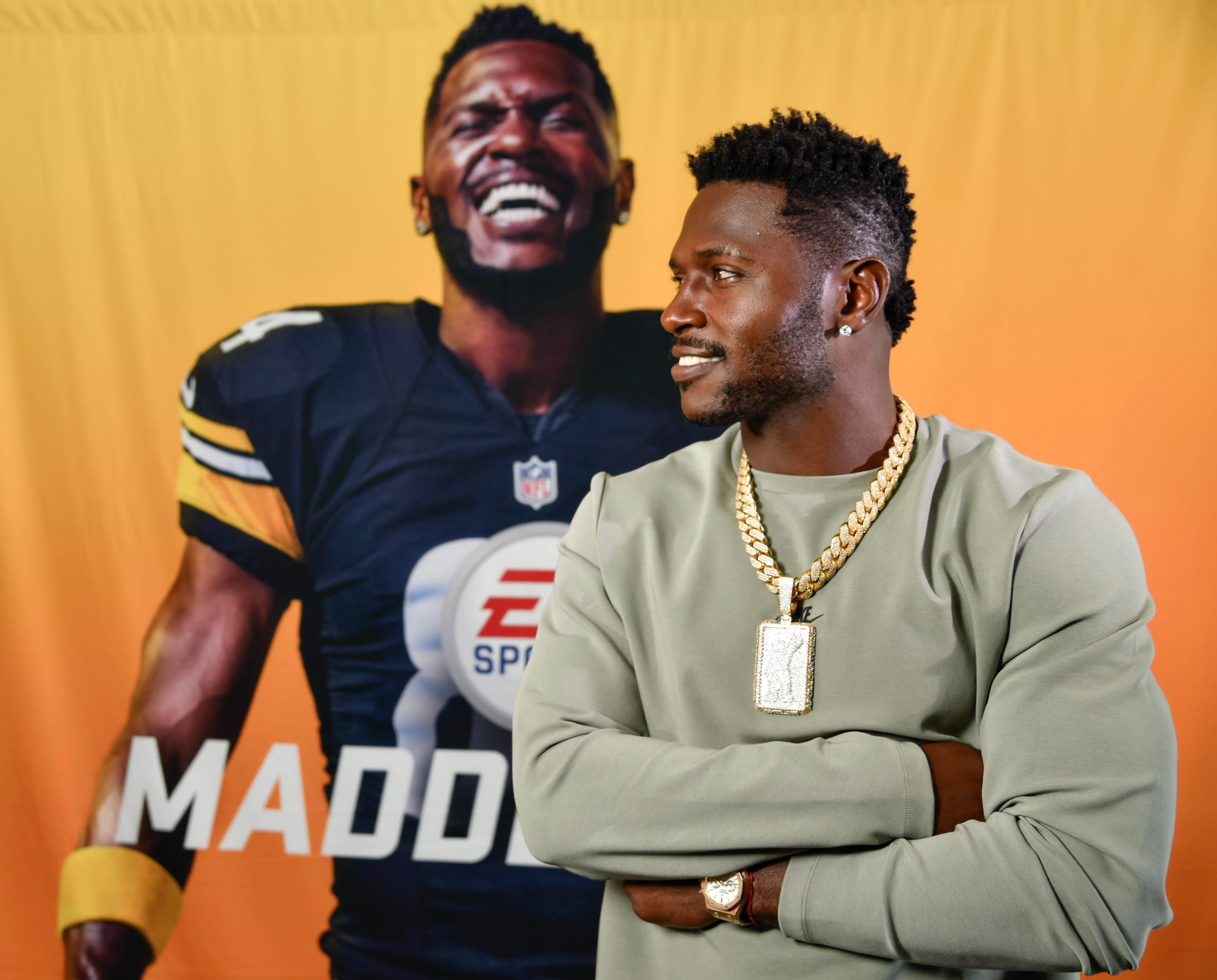 NFL: Antonio Brown-Madden 19 Cover Athlete