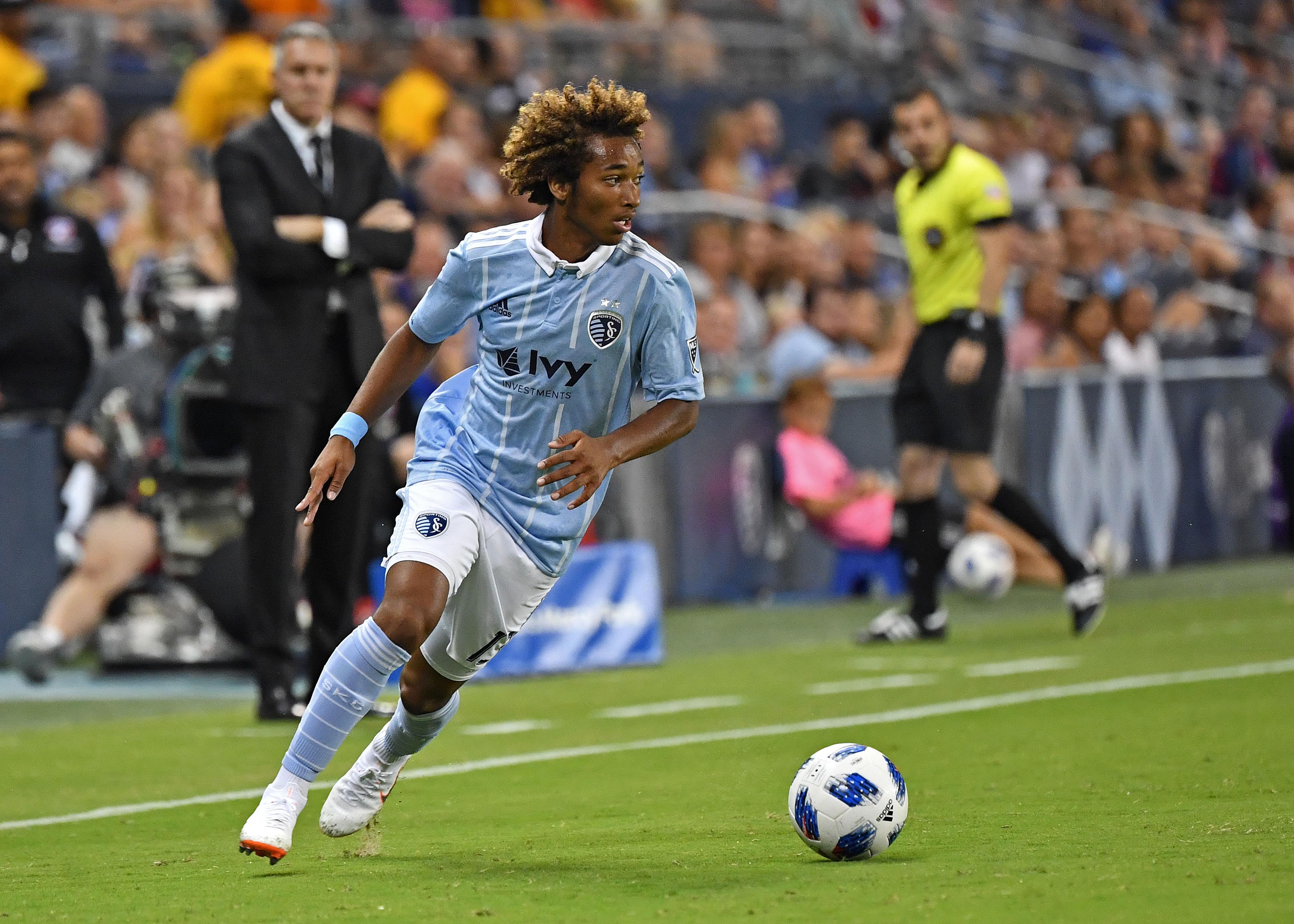 MLS - Sporting KC - Gianluca Busio