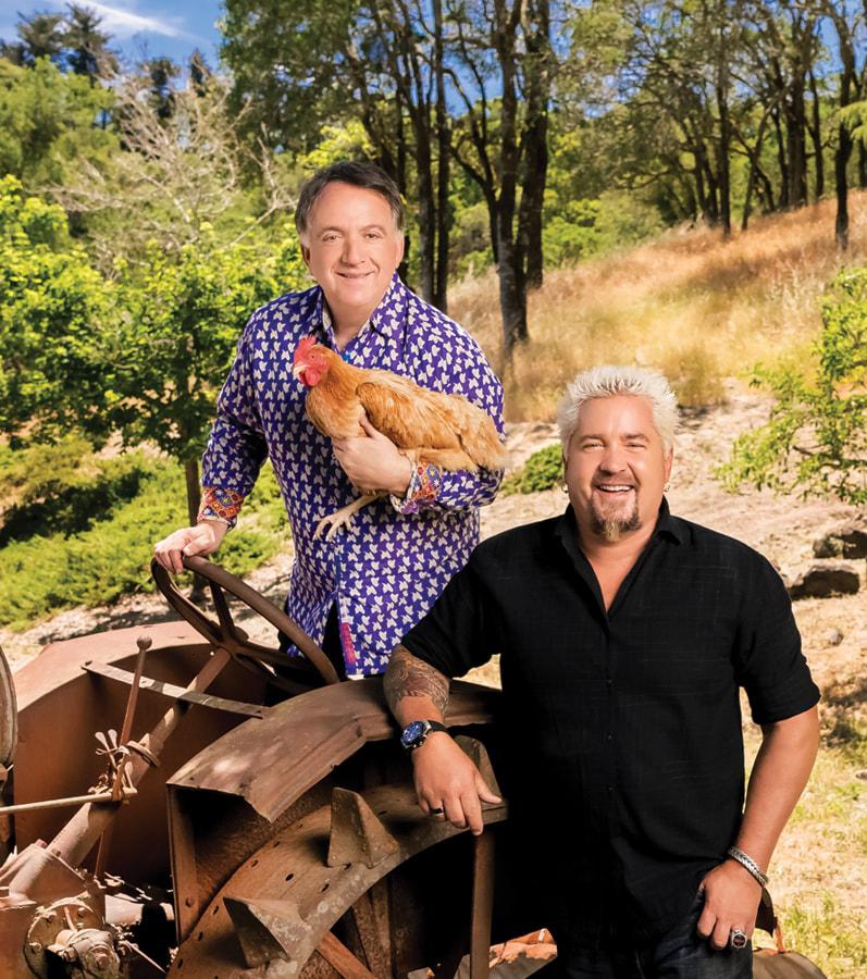 Robert Earl and Guy Fieri of Chicken Guy!