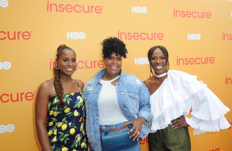 Insecure stars Issa Rae, Natasha Rothwell, and Yvonne Orji.