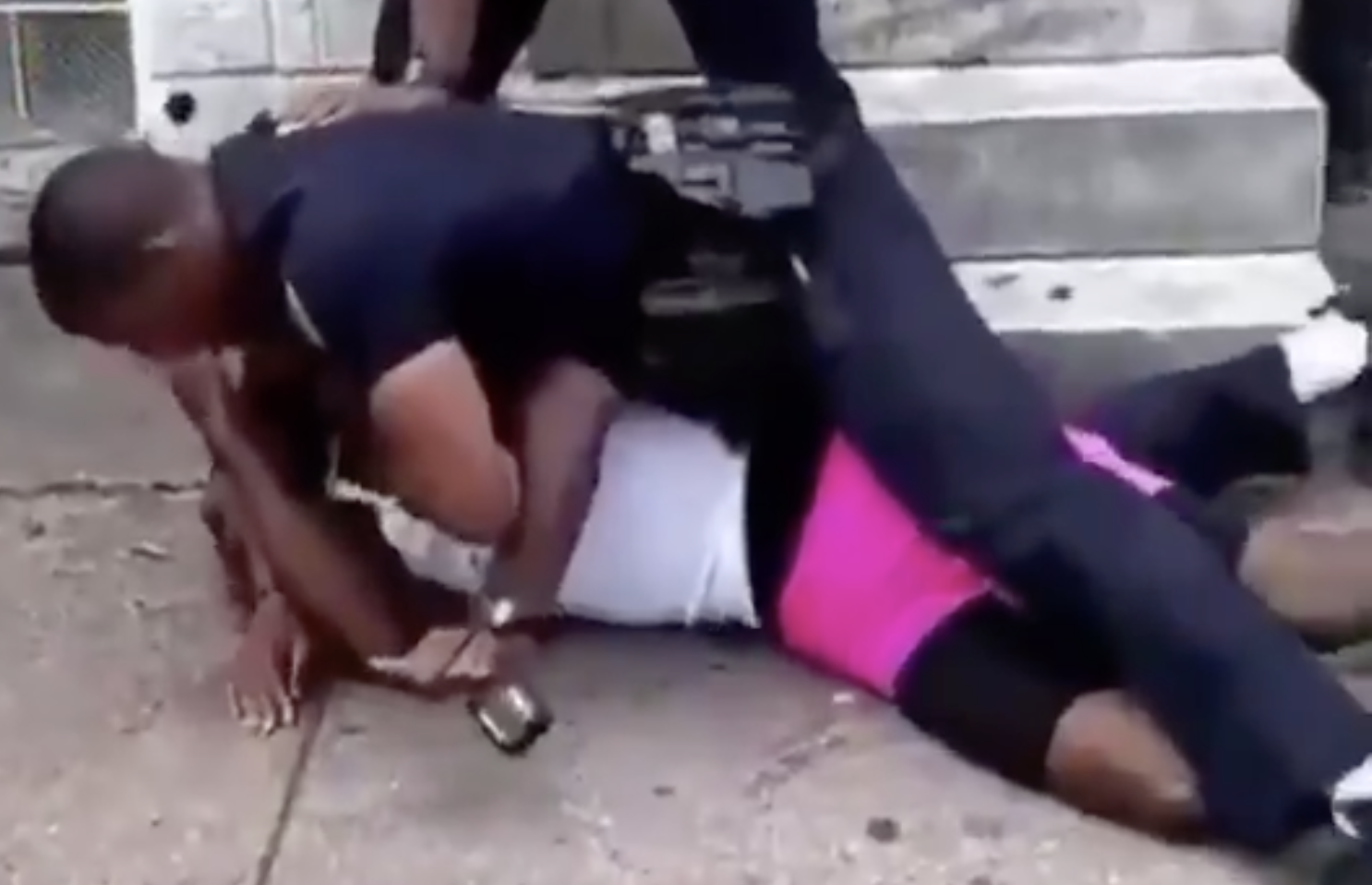 A Baltimore police officer brutally beat a black man. It's creating new problems for the department.