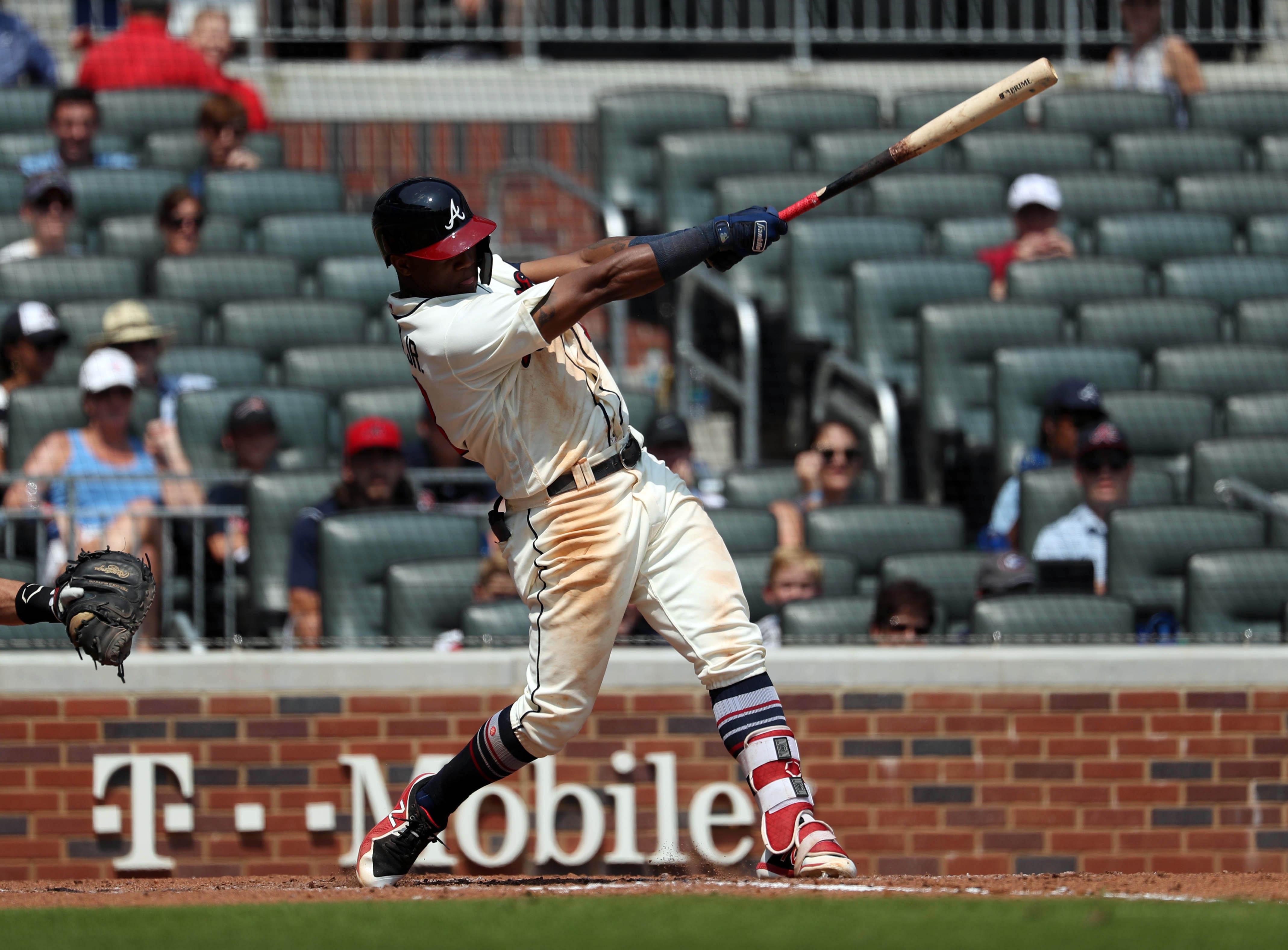 MLB: Game One-Maimi Marlins at Atlanta Braves