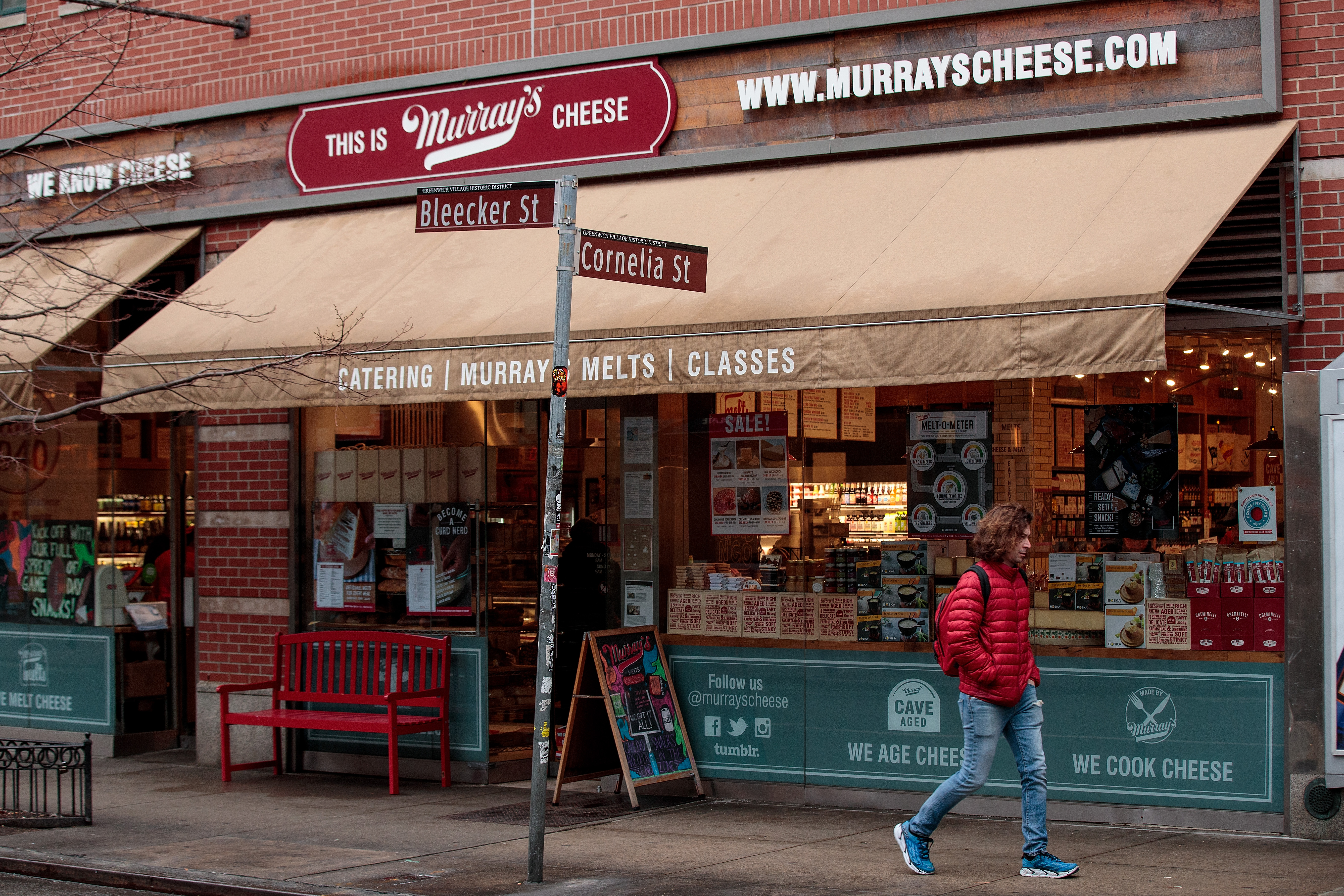 NYC Establishment Murray's Cheese Bought By Kroger Supermarkets