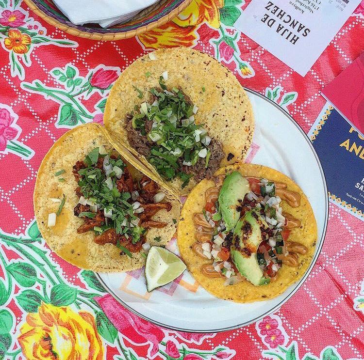 Tacos at Hija de Sanchez