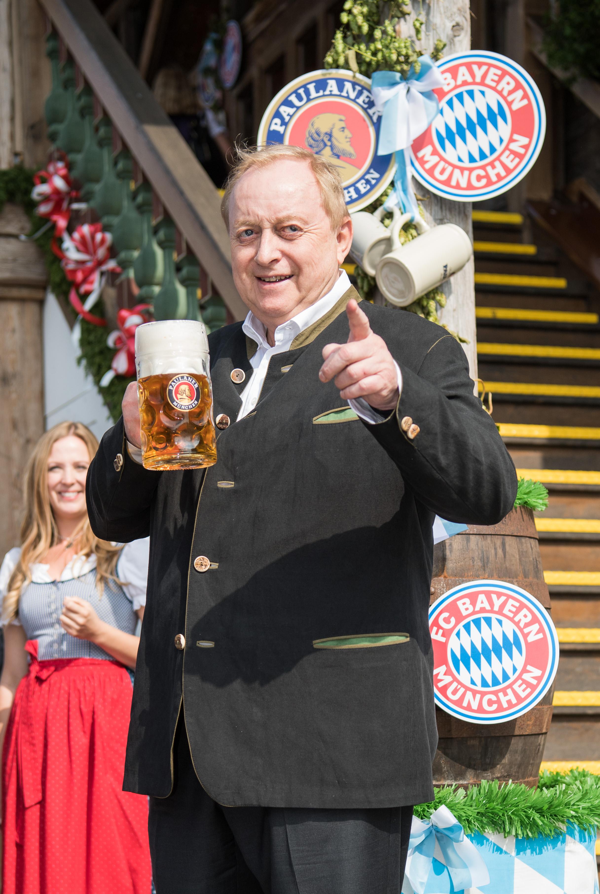 FC Bayern Muenchen Attends Oktoberfest 2017