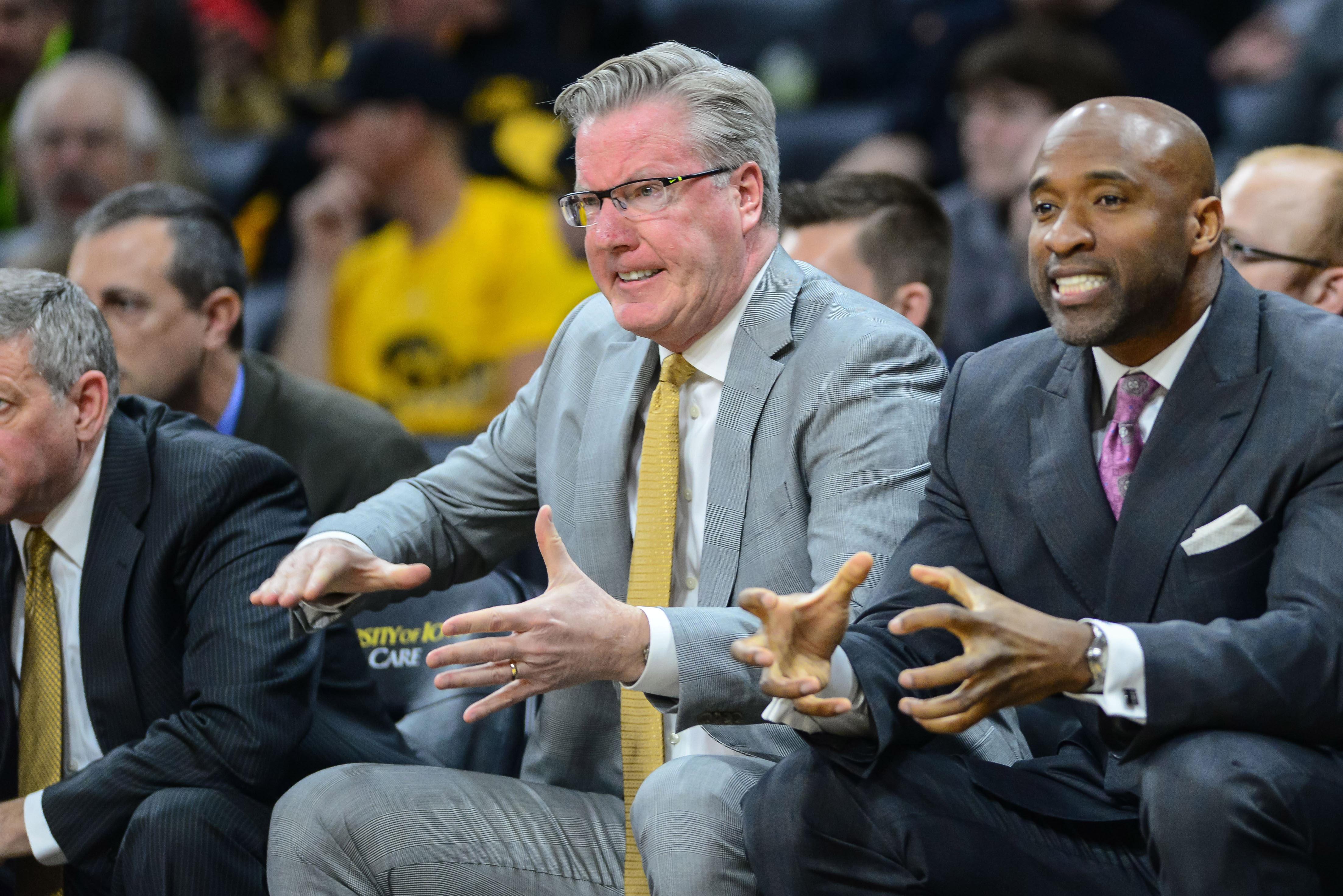 NCAA Basketball: Minnesota at Iowa