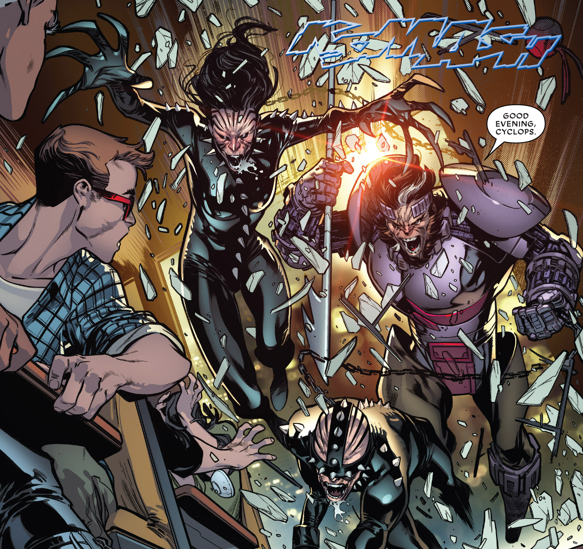 from Extermination #1 (2018)