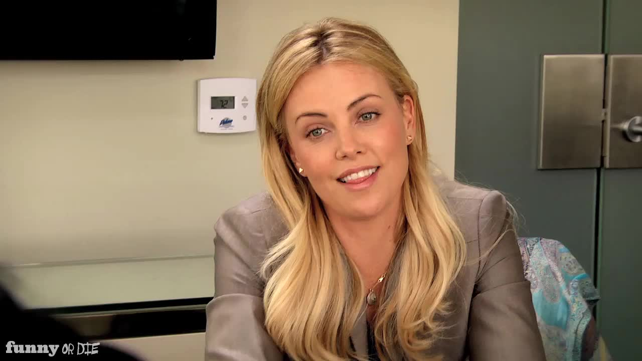 Charlize Theron Funny Or Die