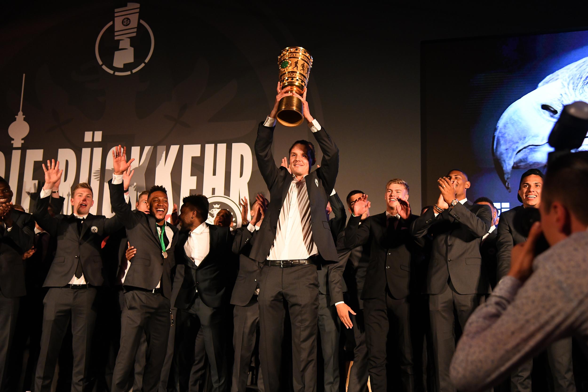 Eintracht Frankfurt Cup Gala - DFB Cup Final 2018