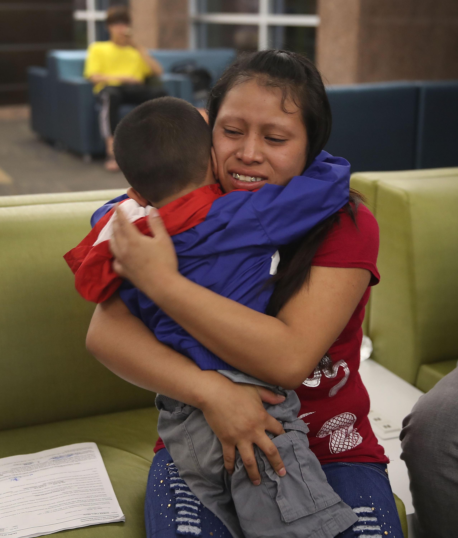 Judge blocks Trump from deporting reunited families