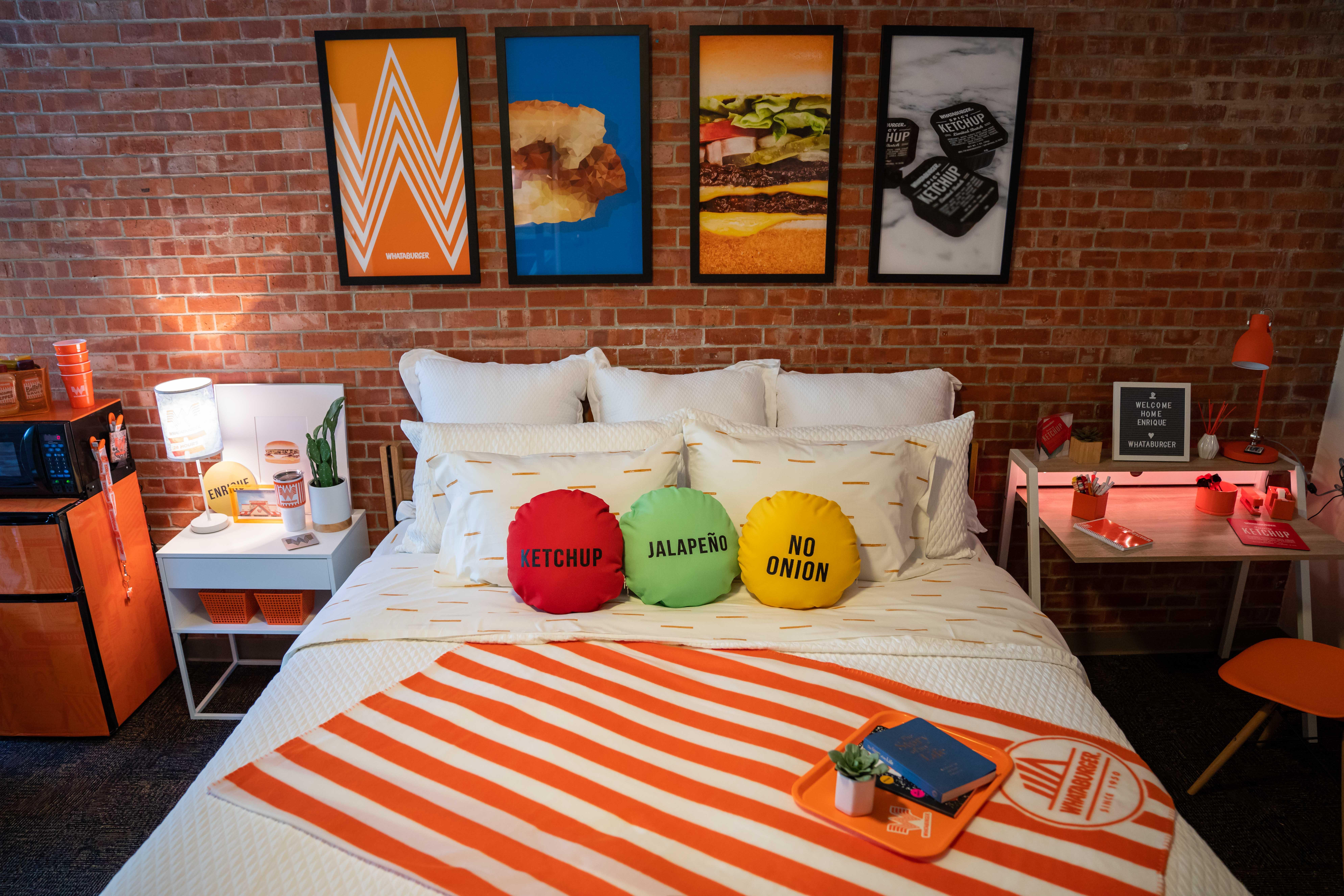 Whataburger's dorm room remodel