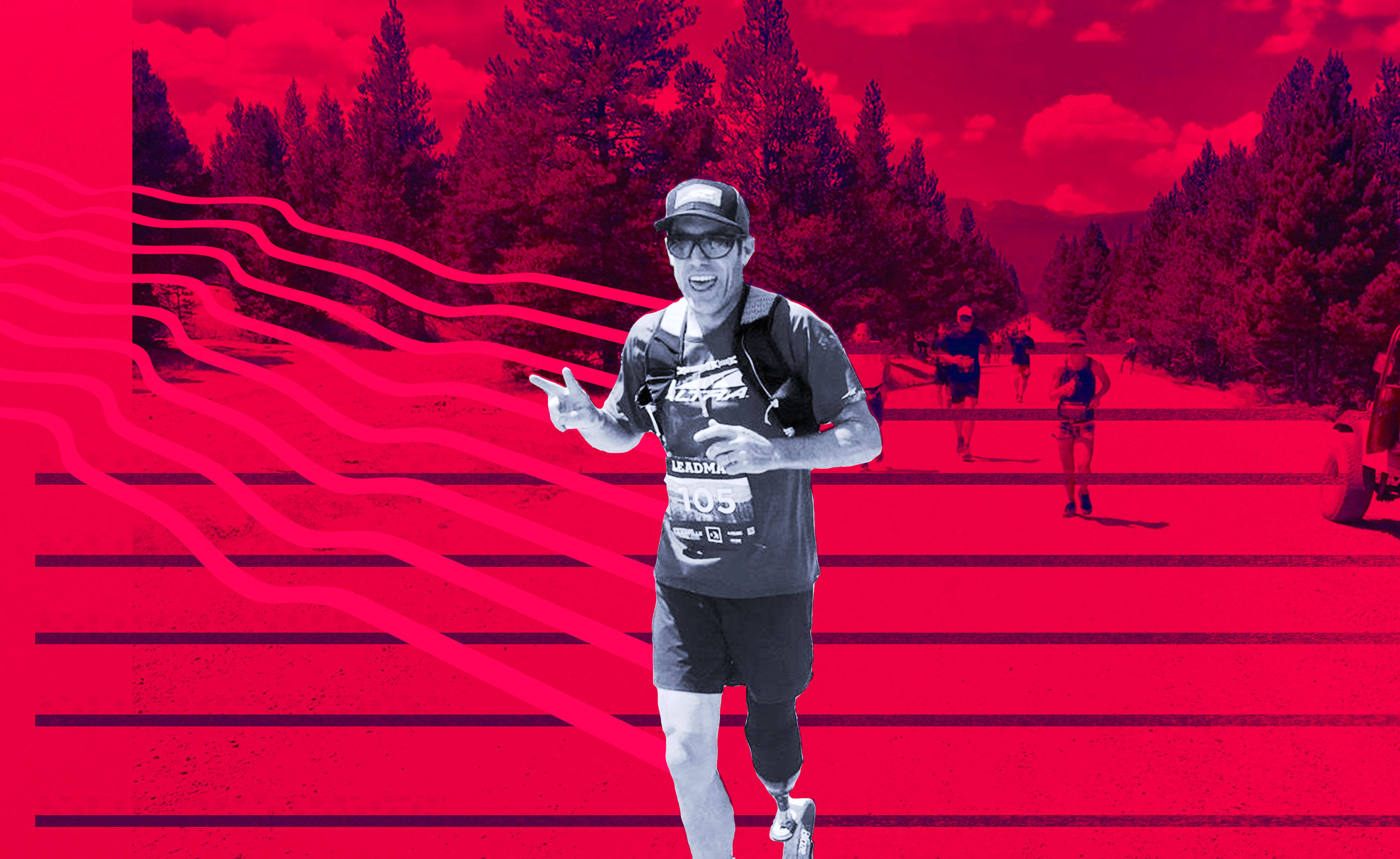 A conversation with an elite ultramarathoner on what running after a leg amputation is really like